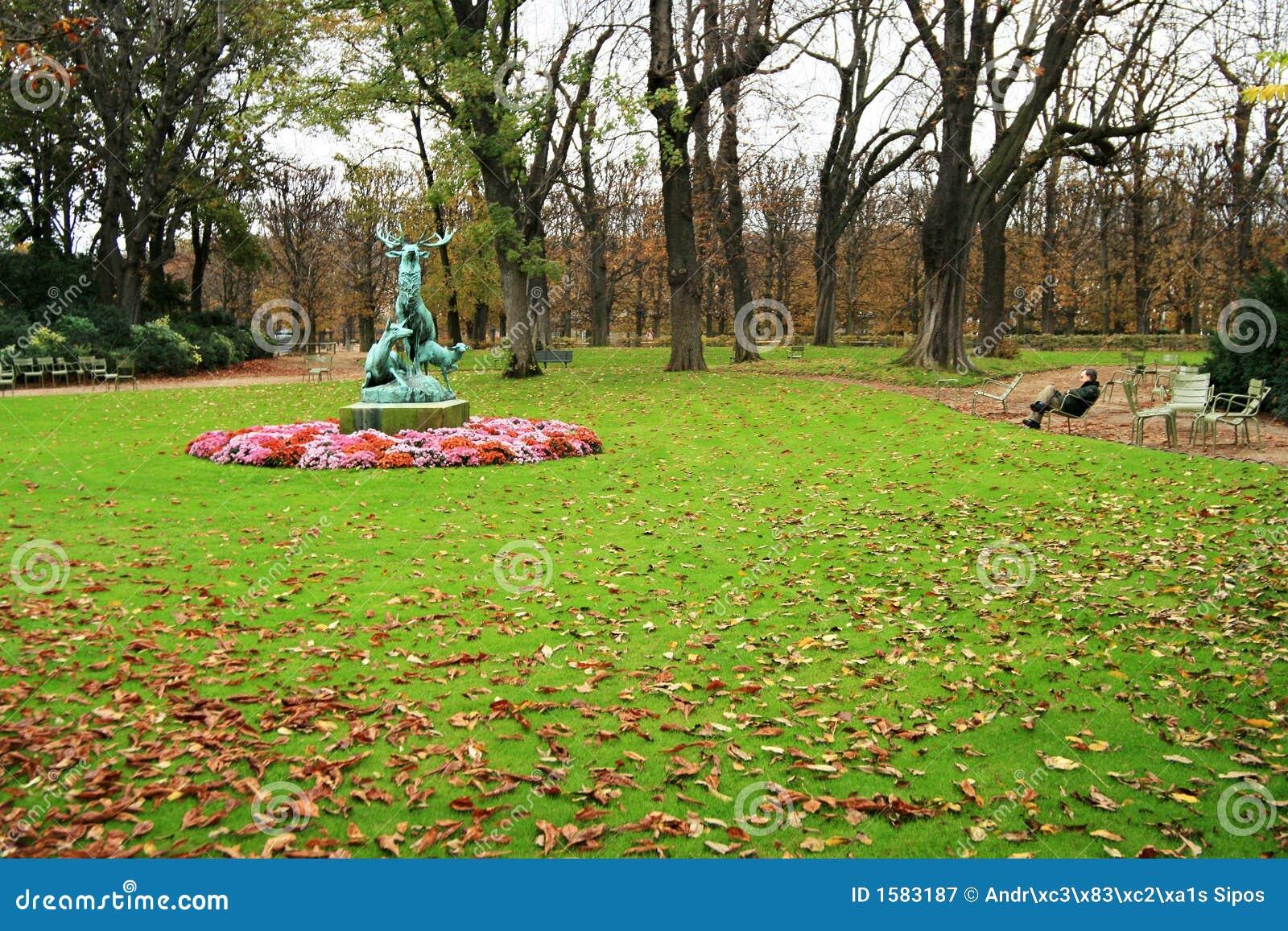 Ogród Paris Luxembourg
