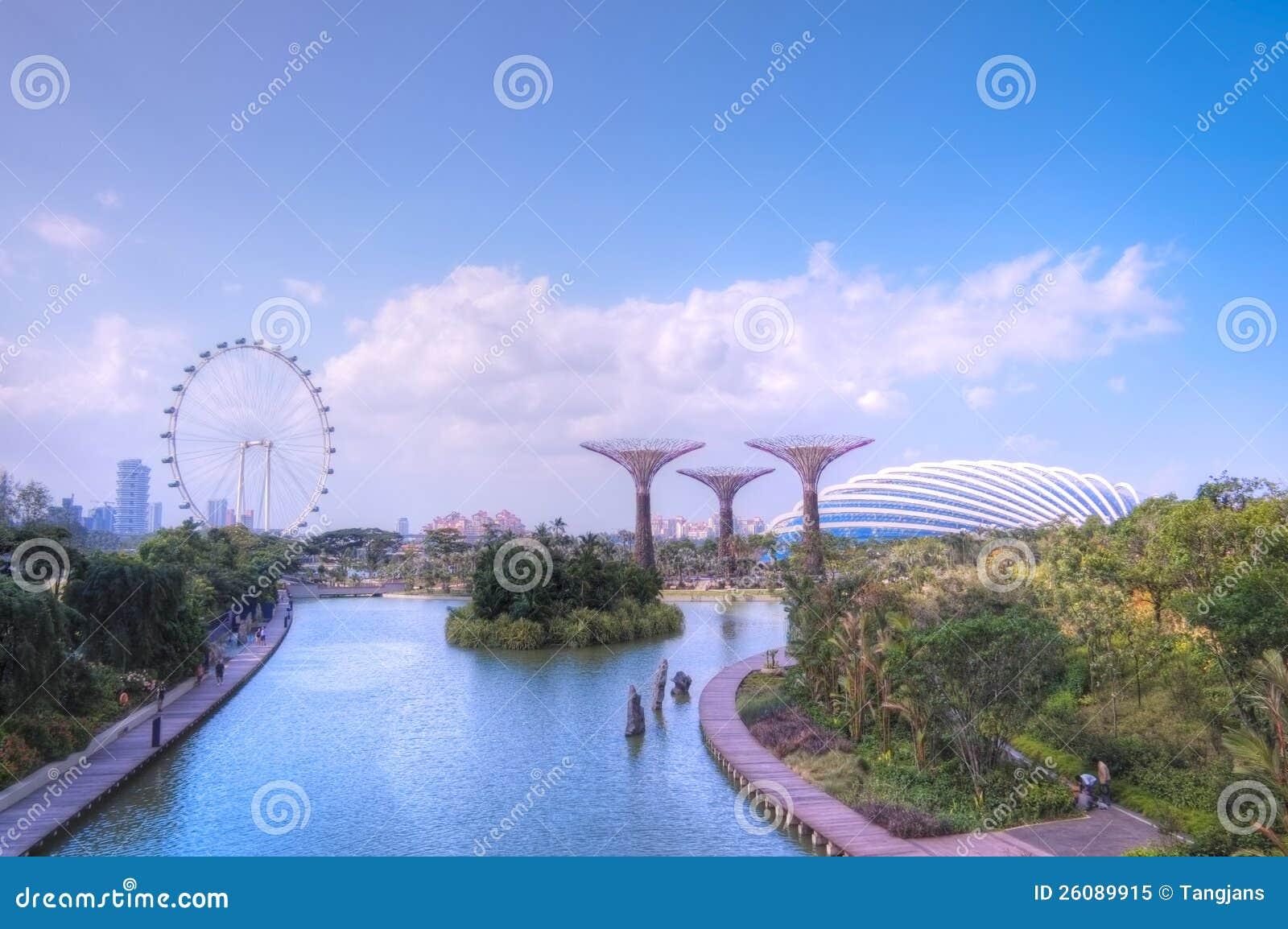 Ogródy Zatoką, Singapur