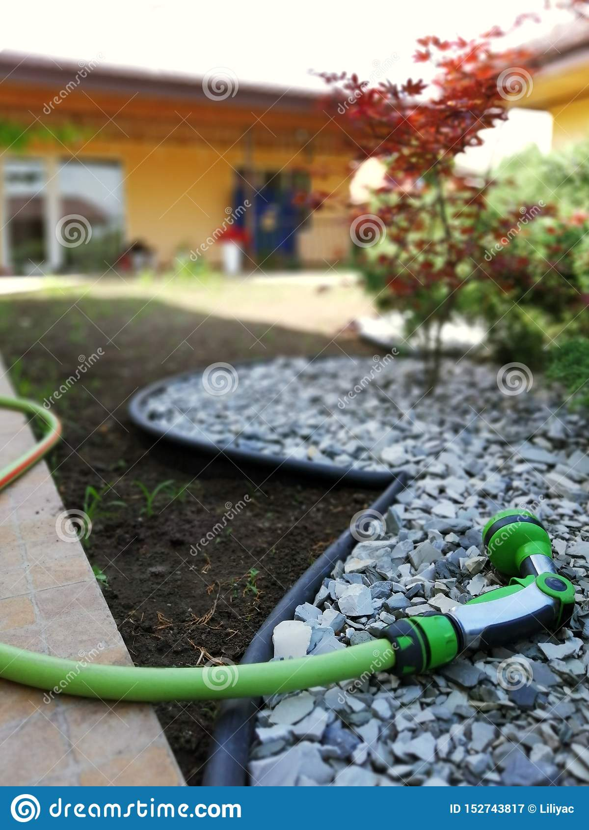 Ogrodowy narzędzie dla nawadniać i opieki