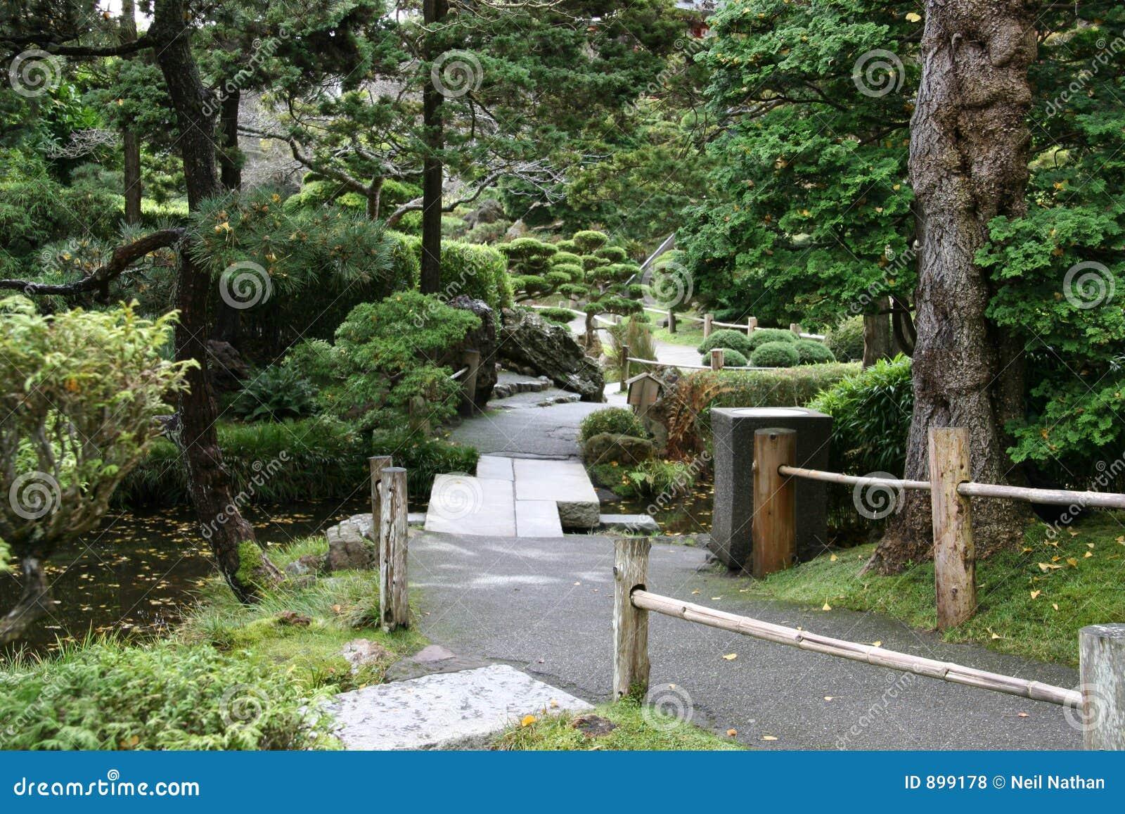 Ogrody japońskiej ścieżki herbatę