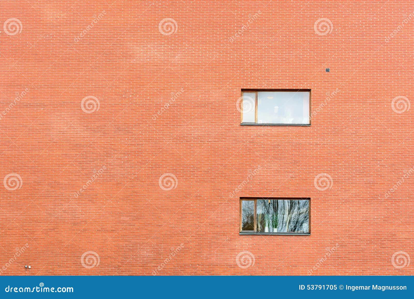 Ogromny ściana z cegieł