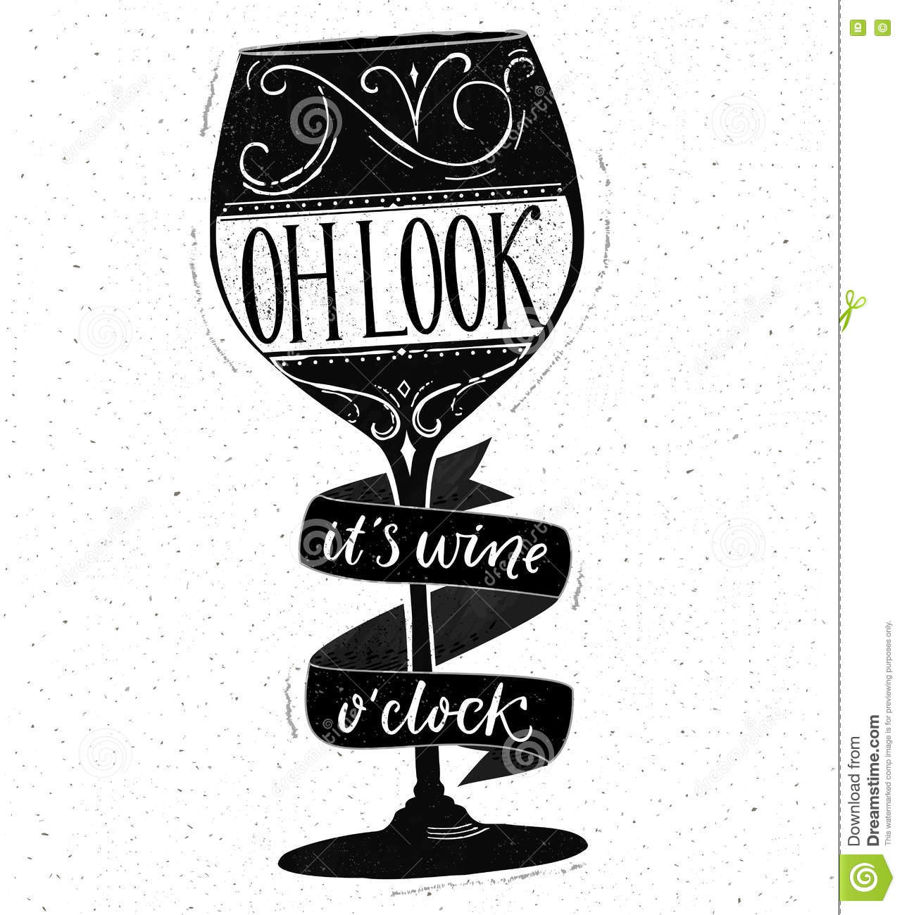 Oh look it 39 s wine o 39 clock funny quote about drinking Oh design