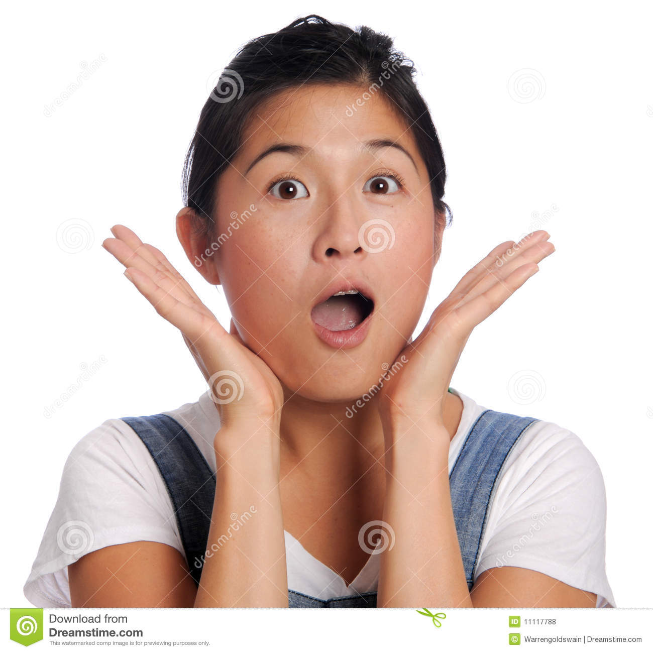 Oh My: Oh My Gosh Stock Photo. Image Of Chinese, Hands, Dress