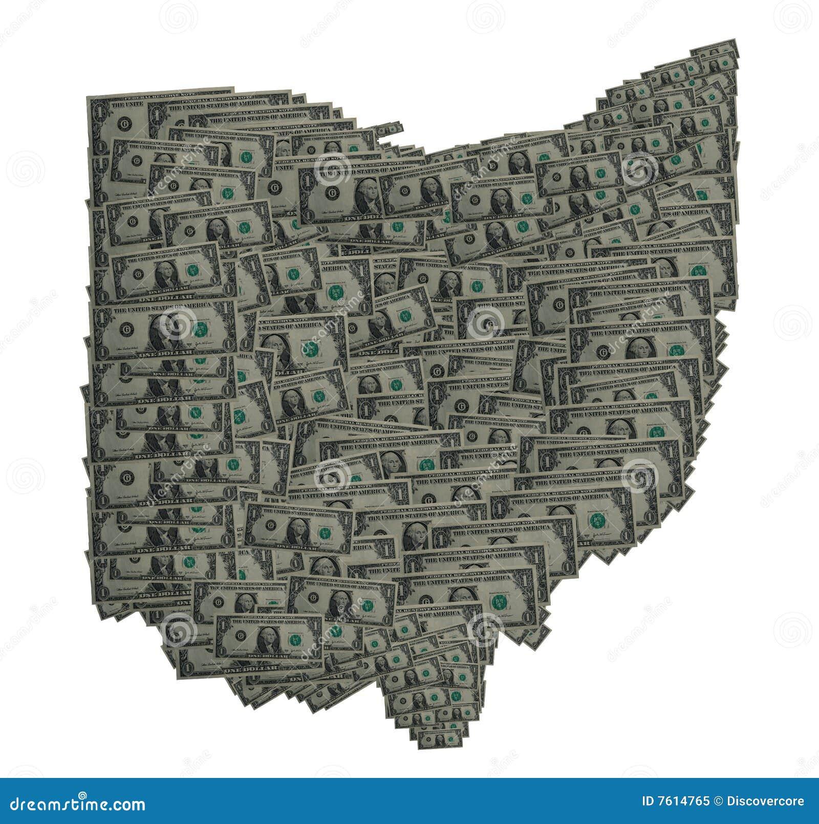 Ohio Dollar Outline