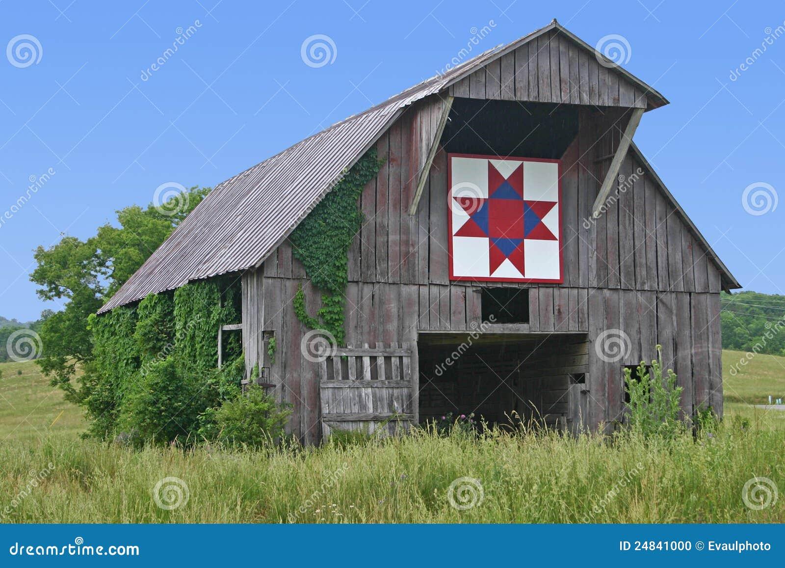 Ohio Star Quilt Block Stock Photo Image Of Cover Farm