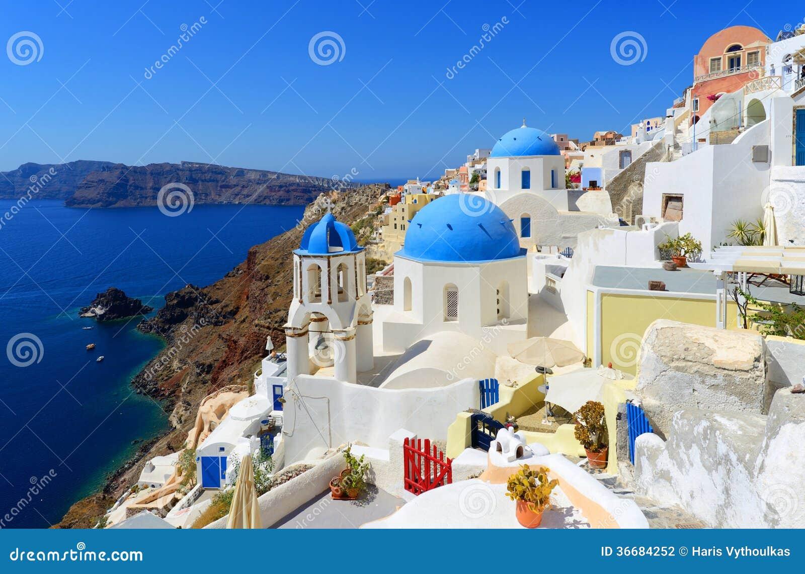 Oia Santorini Griechenland