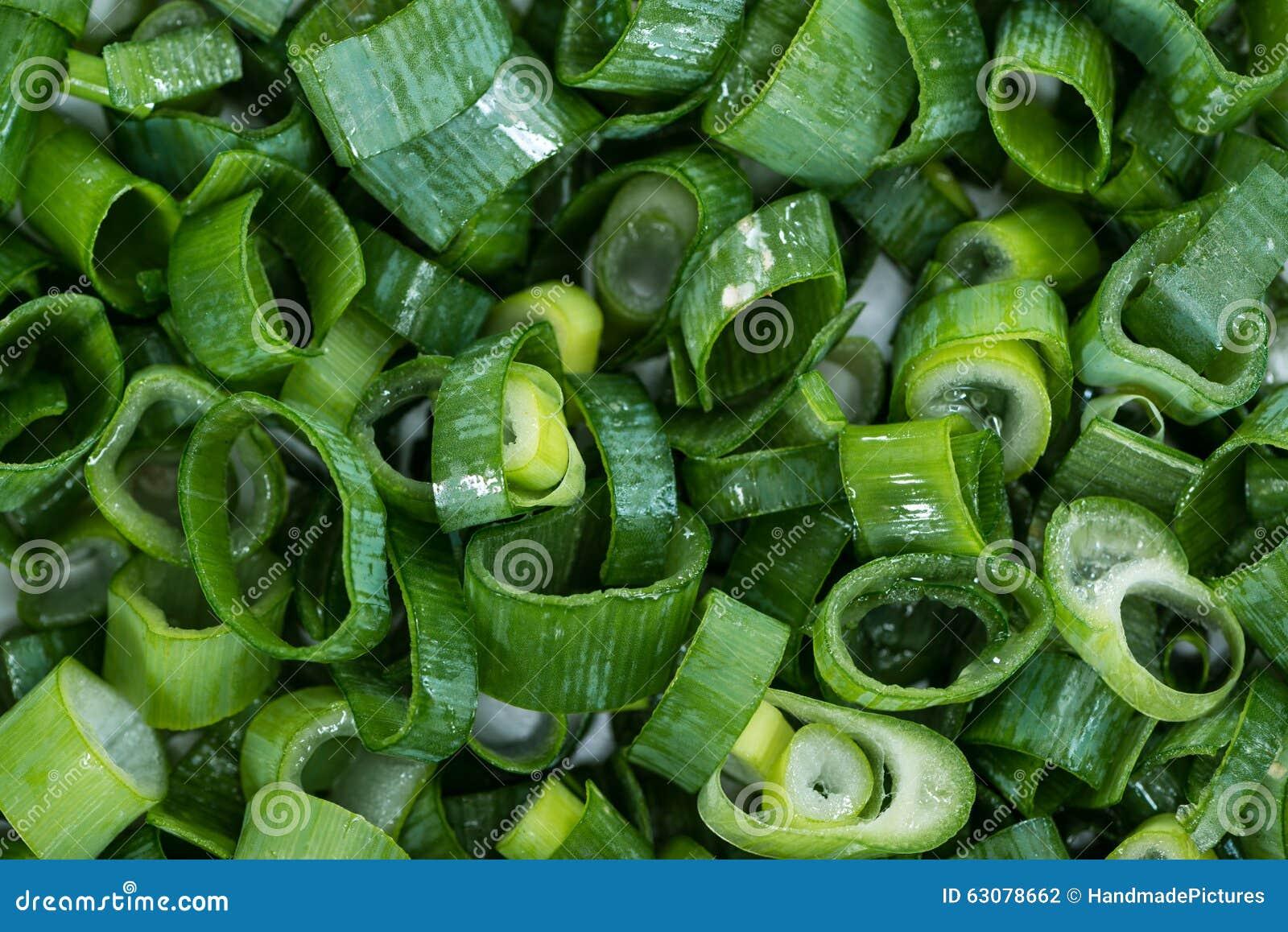 Download Oignons Blancs Cutted Frais Photo stock - Image du ingrédient, vert: 63078662