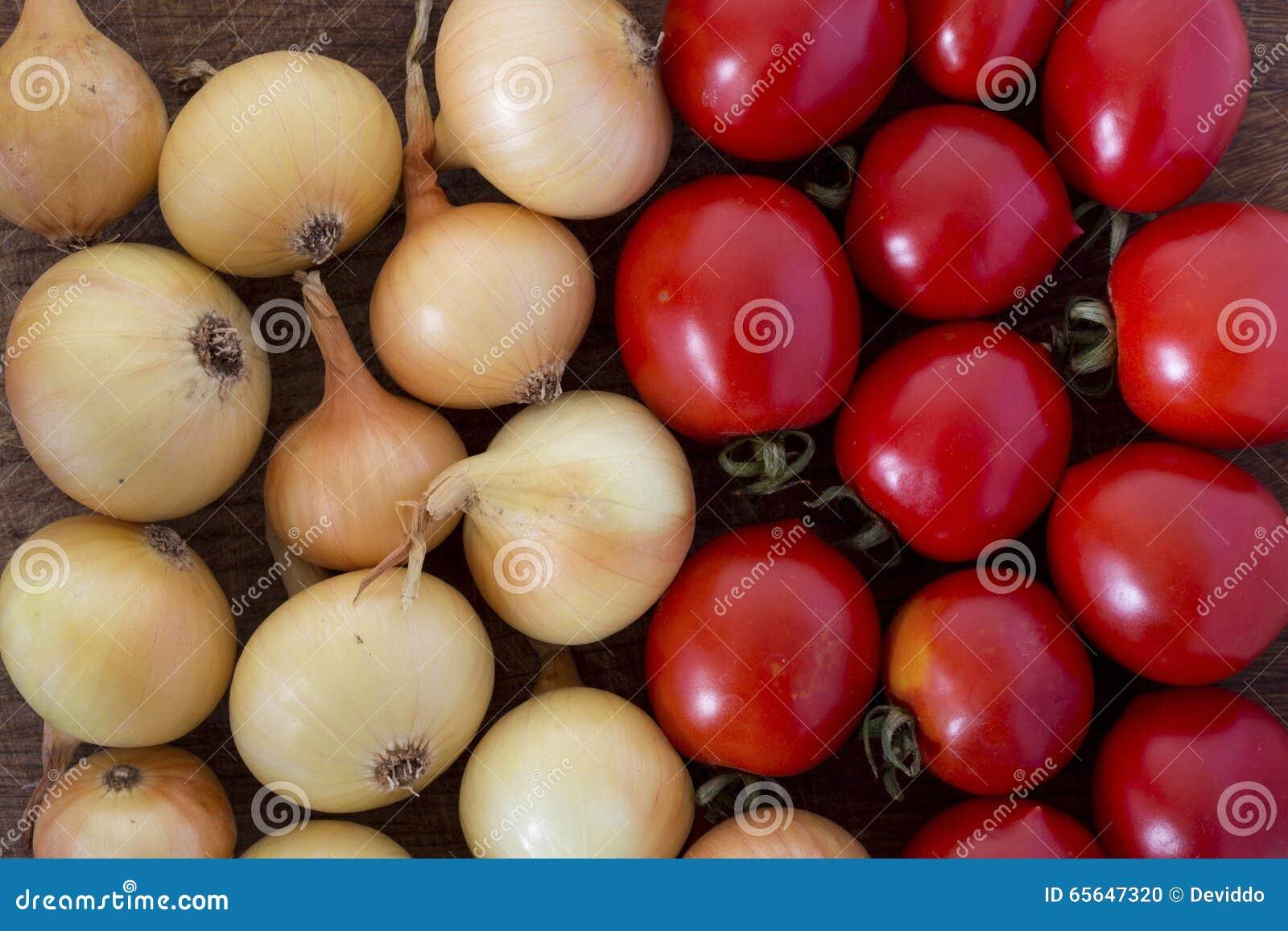 Oignons et tomates