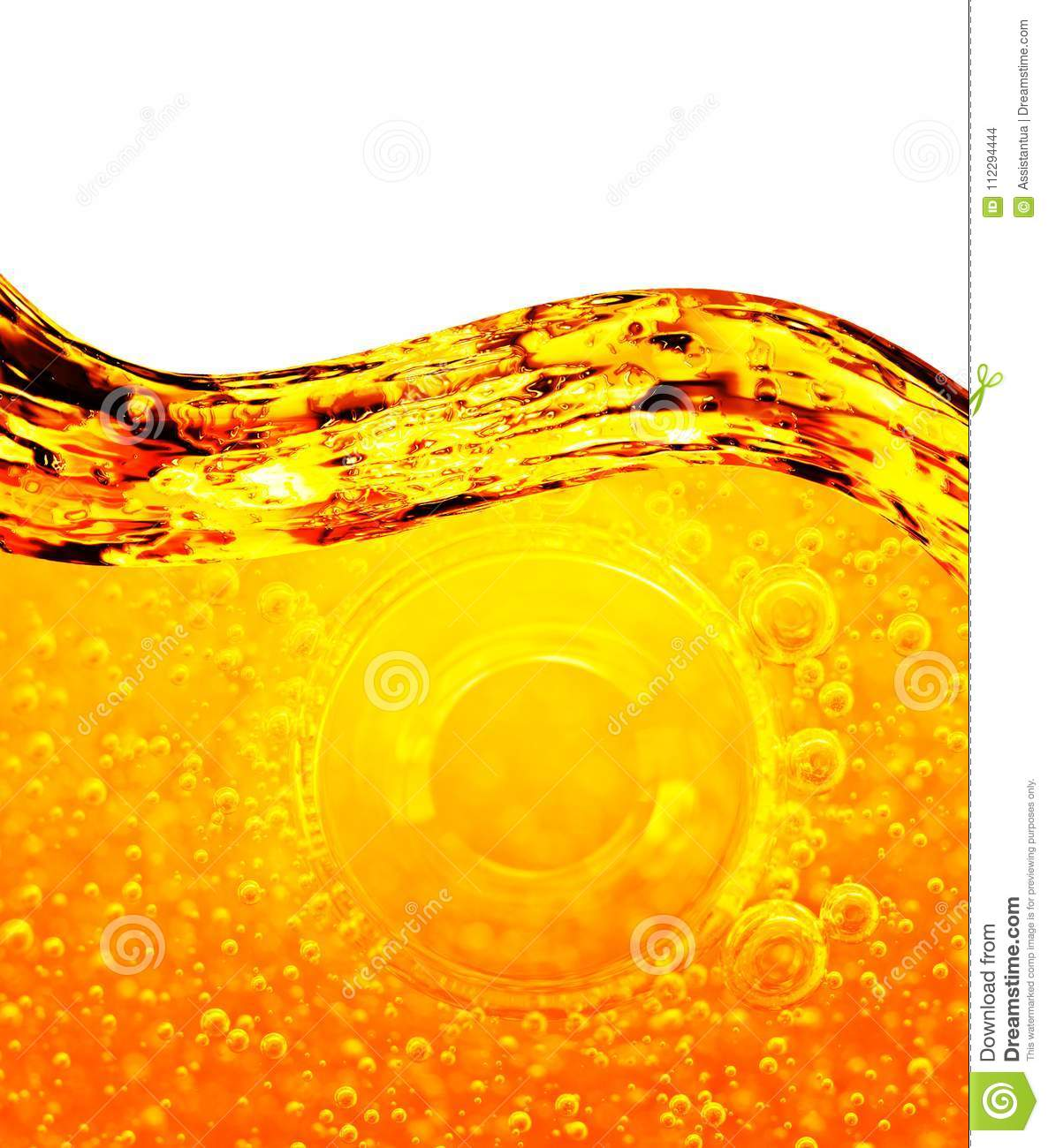 Oil Background With Air Bubbles  Stock Photo - Image of bubble