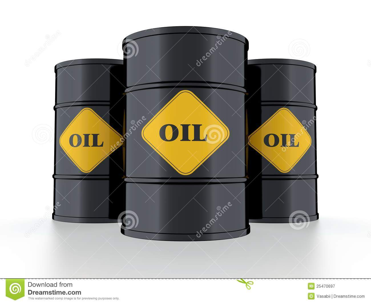 Oil Barrel Royalty Free Stock Photography Image 25470697