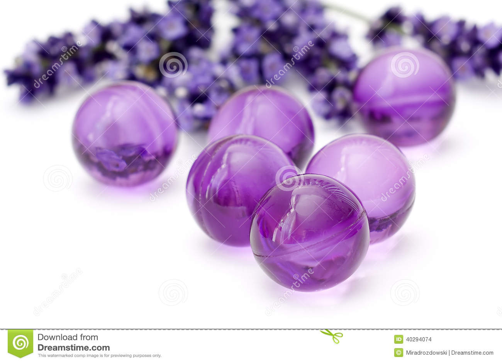 Oil bath pearls stock photo  Image of hygiene, renew - 40294074