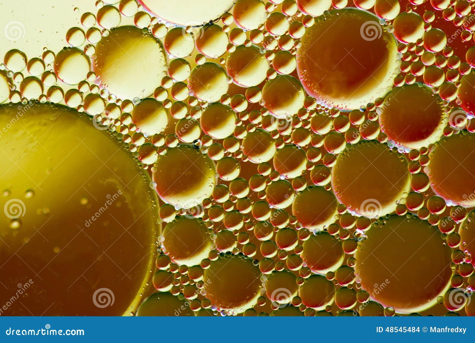 Oil Bubble Background