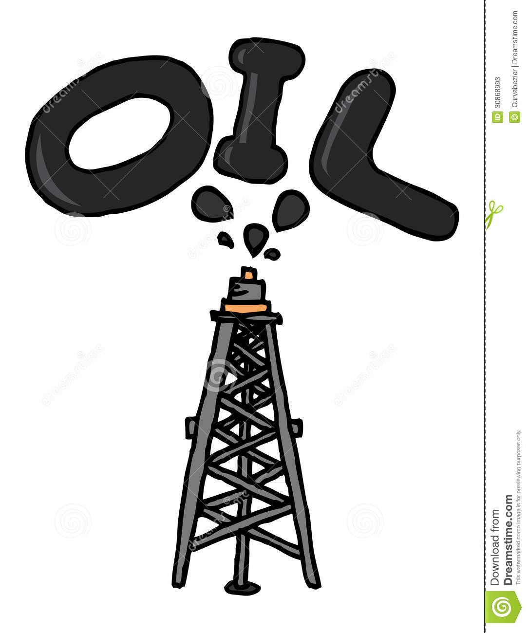 Oil Coming Out Of Pump Stock Photos - Image: 30868993