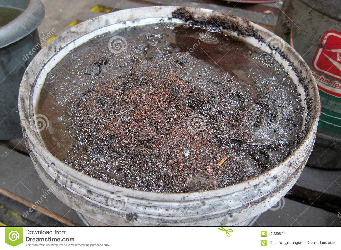 Oil Dirty Stock Photo Image 61208044