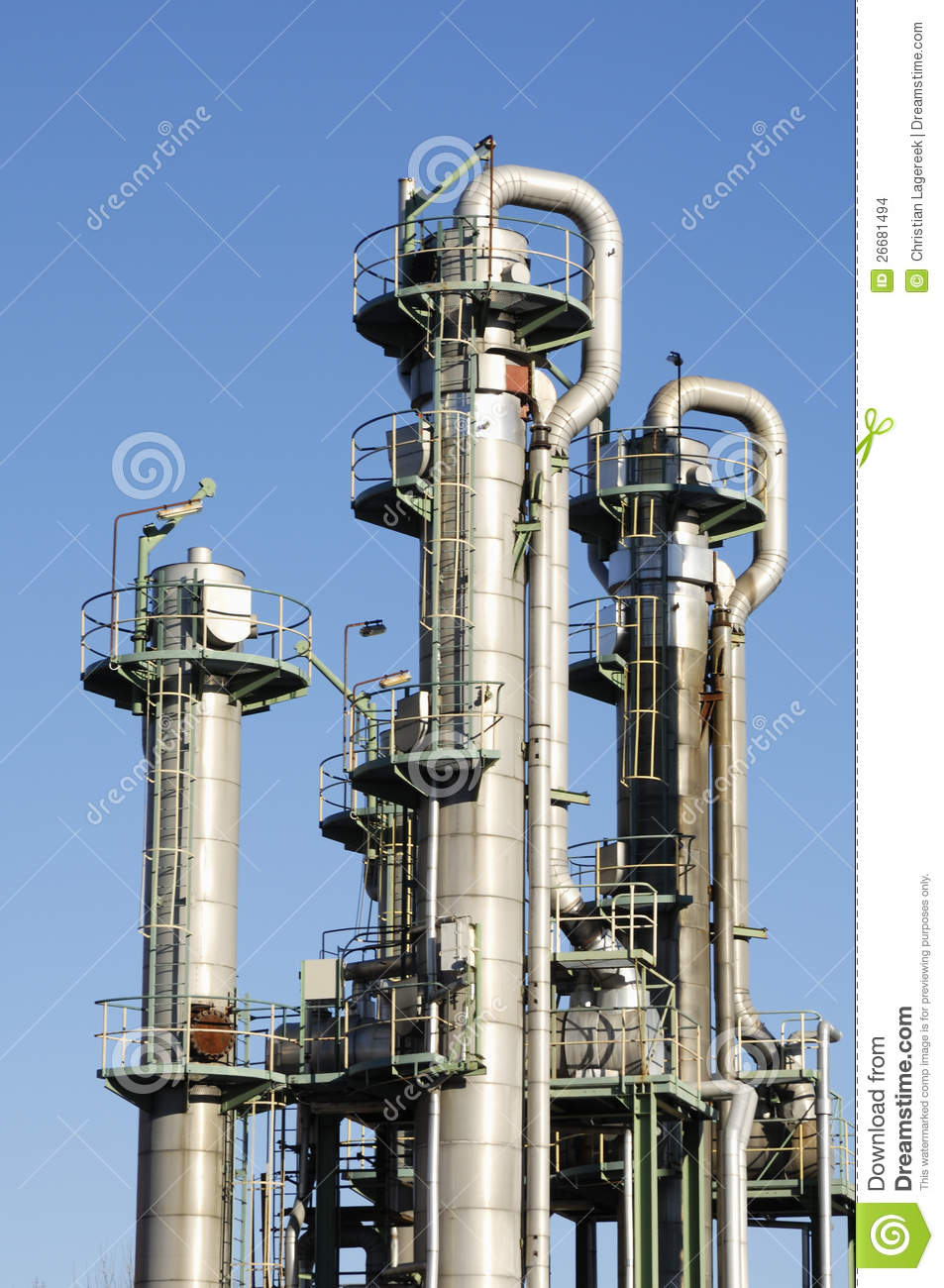Tower Fuel Rule : Oil and fuel towers stock images image
