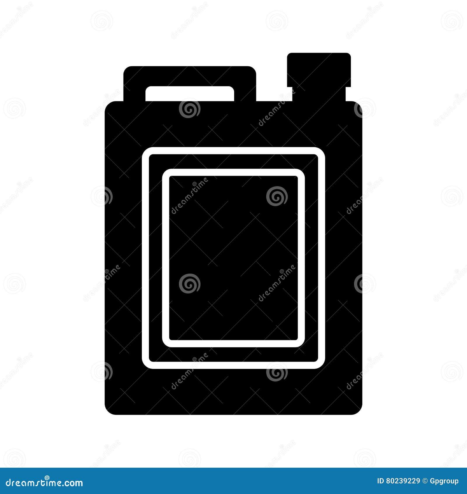 Oil gallon icon