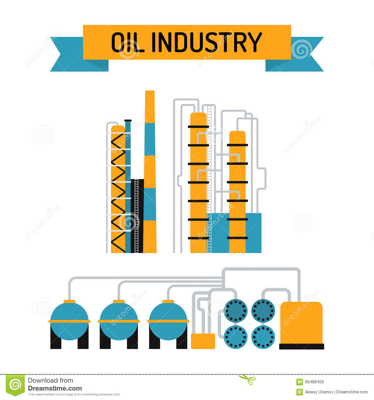 Gas and oil industry symbols stock vector illustration of fire oil industry flat style vector symbols stock photo biocorpaavc