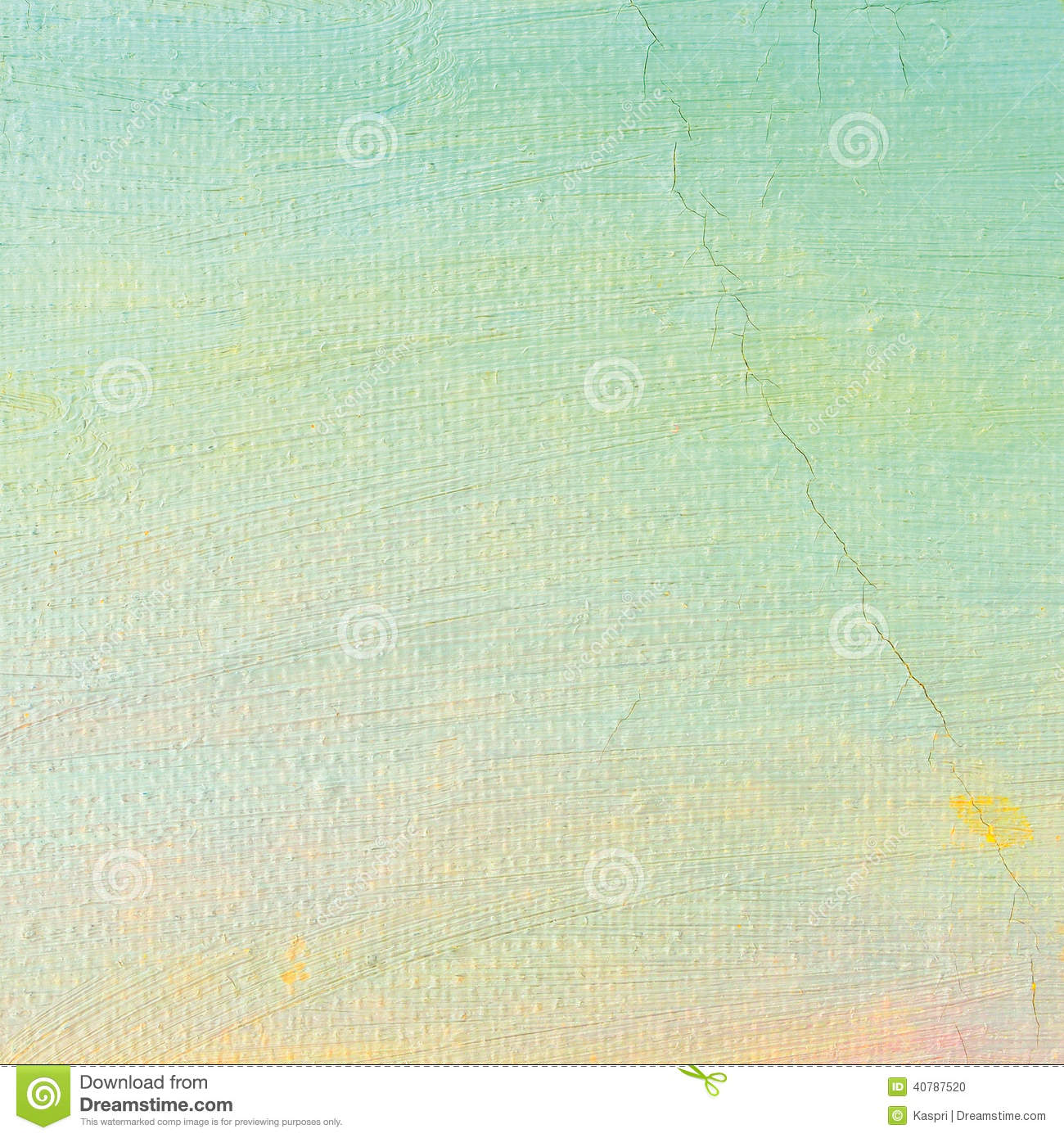 Oil paint background bright ultramarine blue yellow - Bright turquoise paint colors ...