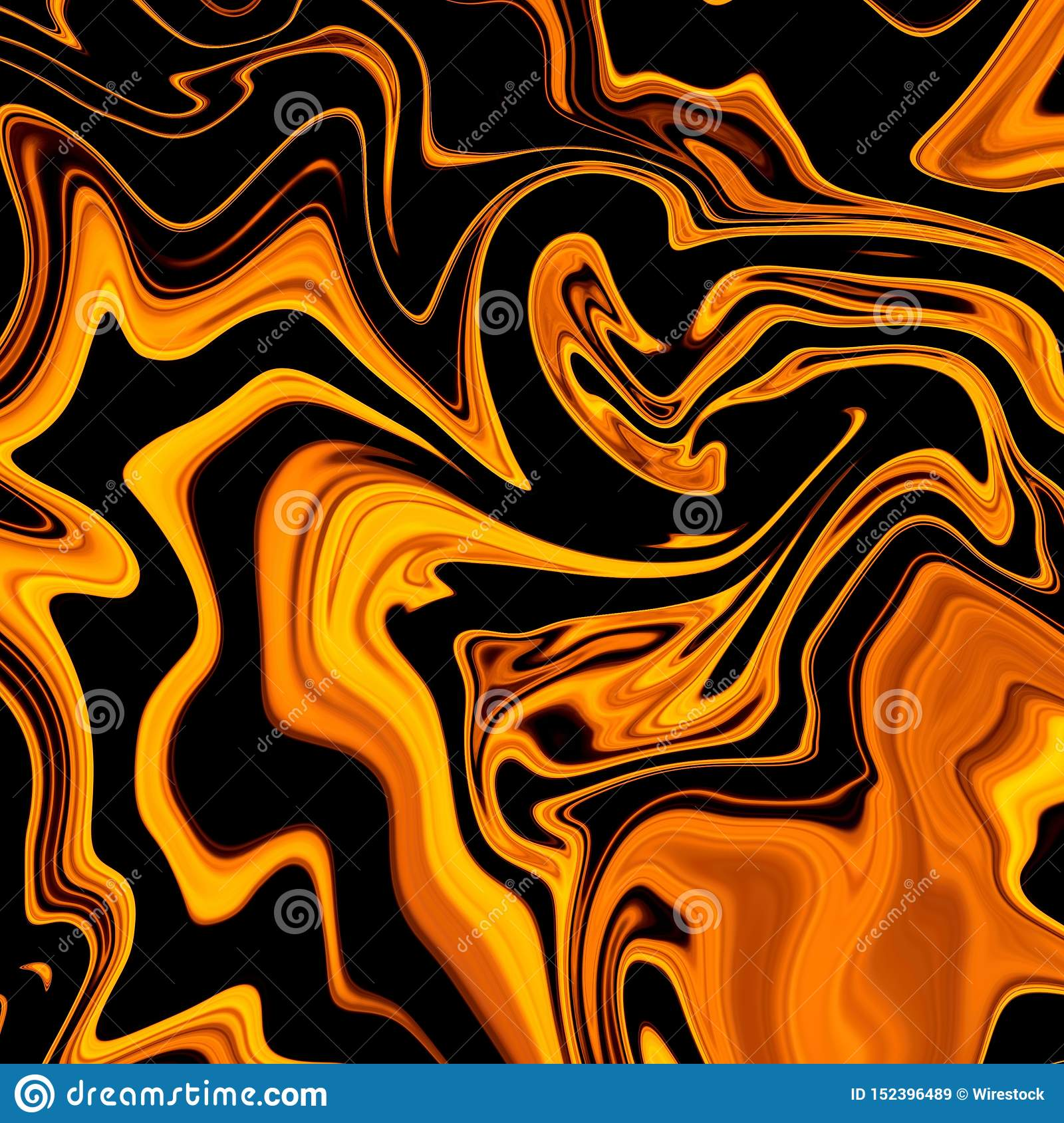 oil paint mixup black dark orange colors perfect cool art background wallpaper 152396489