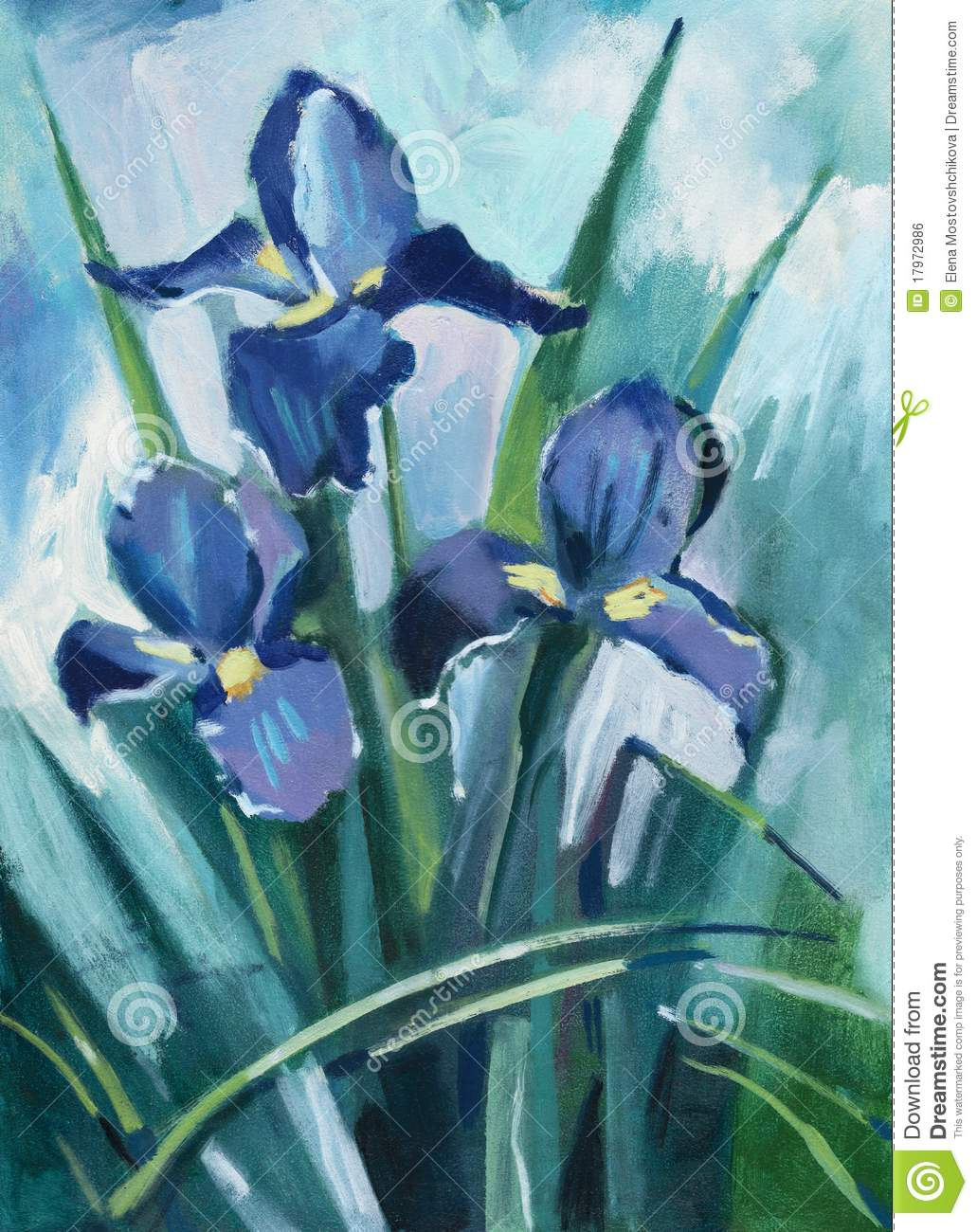 Oil painting iris flowers stock illustration illustration of flower oil painting iris flowers stock illustration illustration of flower 17972986 izmirmasajfo