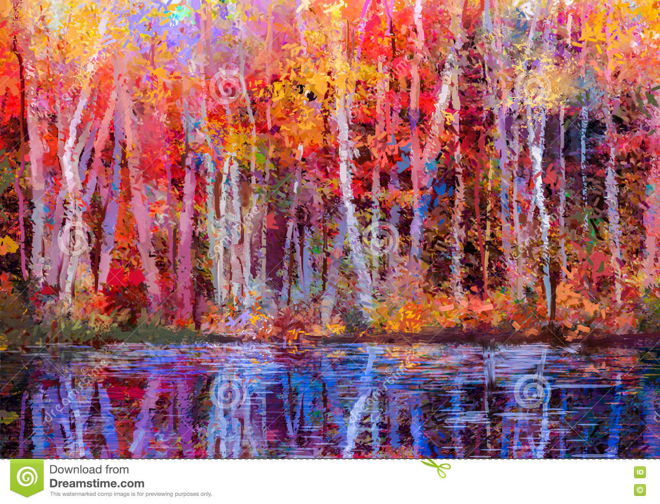 Colorful Aspen Paintings