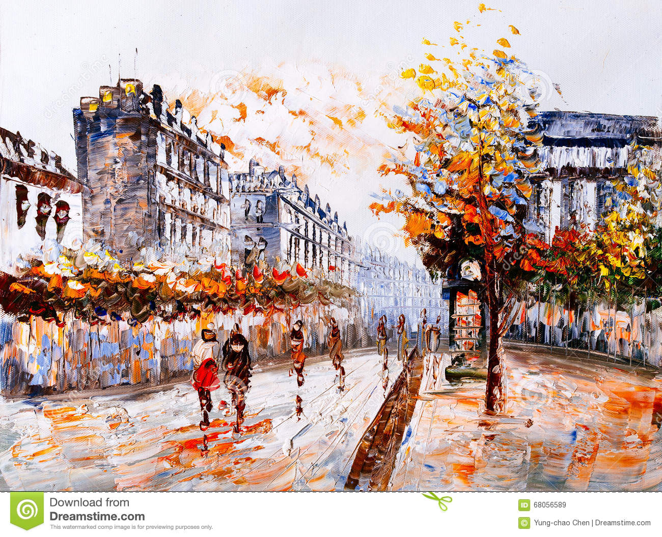 Famous Paris Cafe Paintings