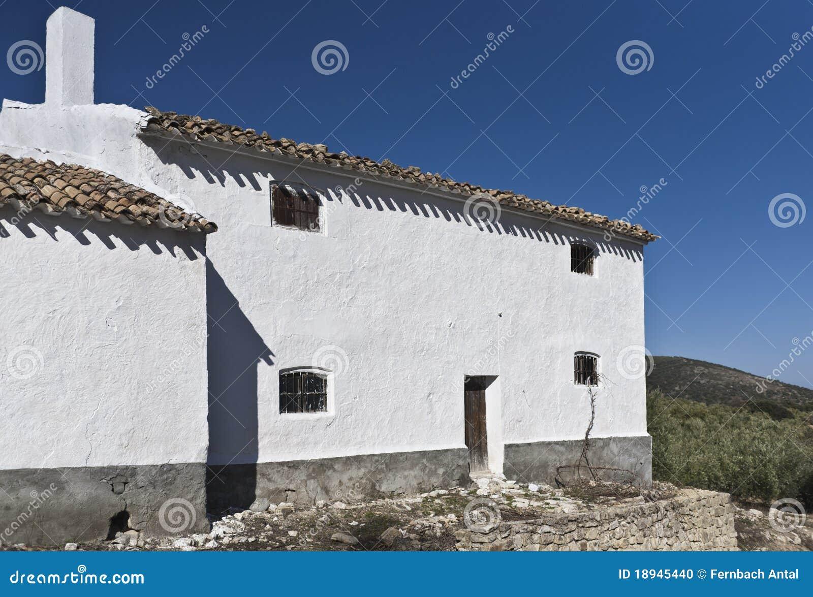 Oil press house in Spain