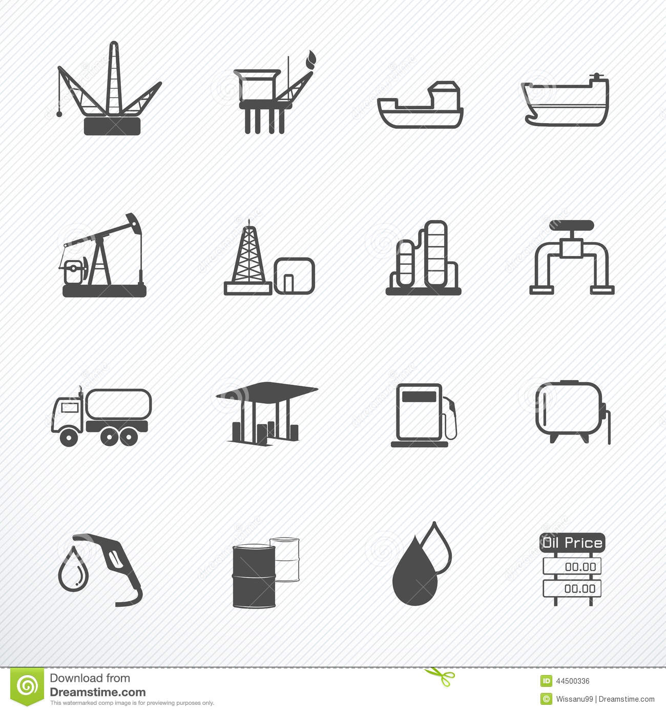 Oil Production icon vector illustration