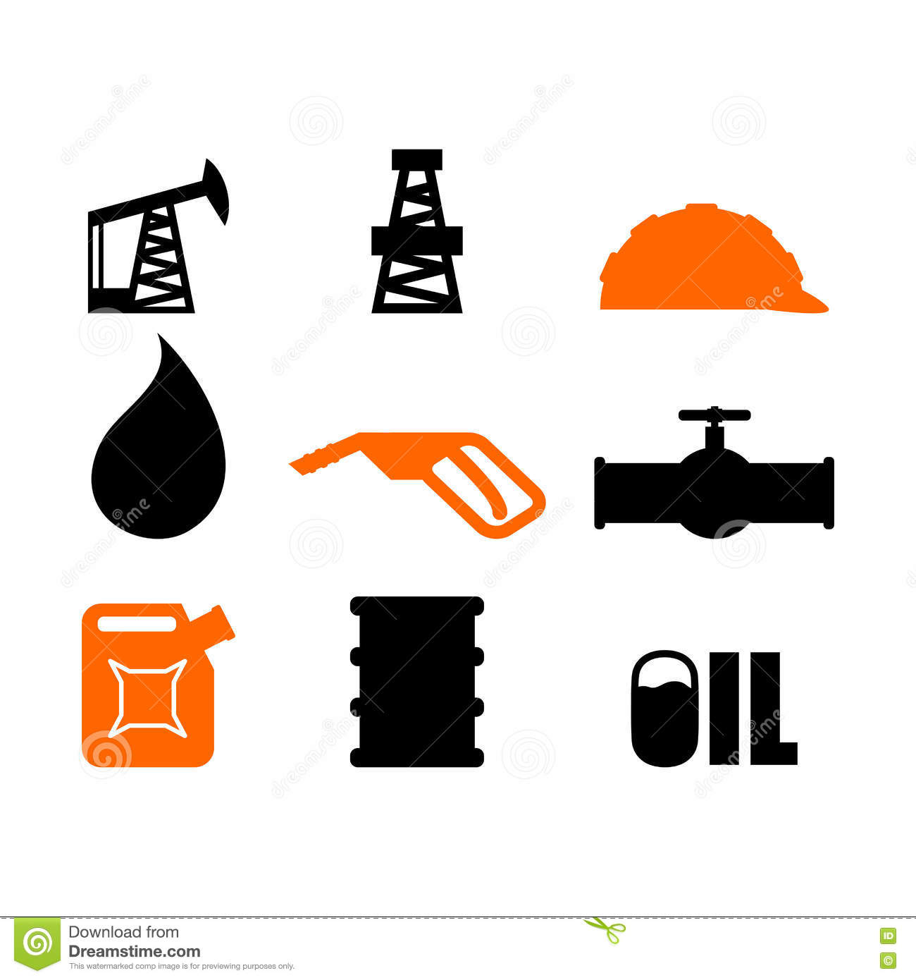 oil production set of icons petroleum industry sign logo Oil Derrick Clip Art Transparent oil derrick clipart free
