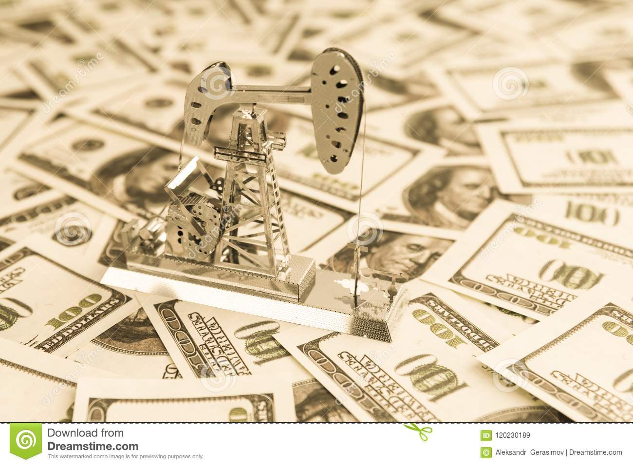 Fuel Industry  Oil Business  Stock Image - Image of american