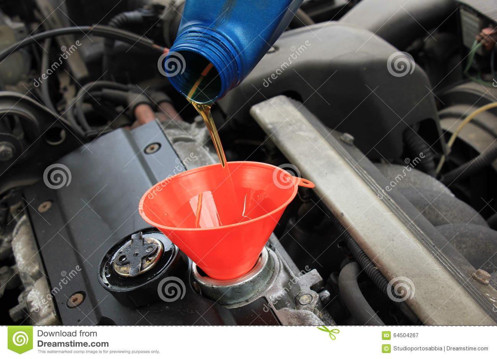 Oil refill stock image image of change drive vehicle for Motor oil for older cars