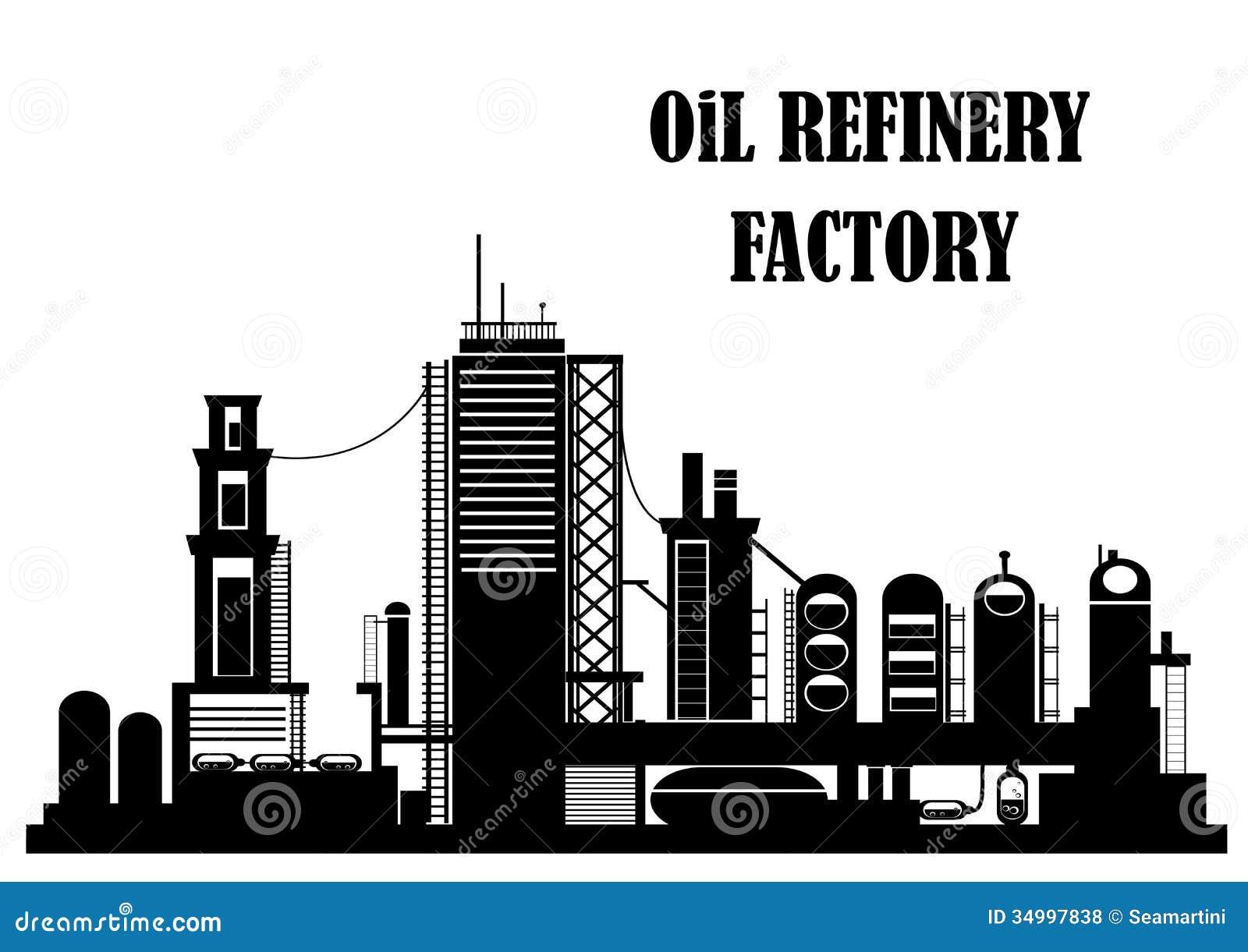 Refinery Symbol Clip Art
