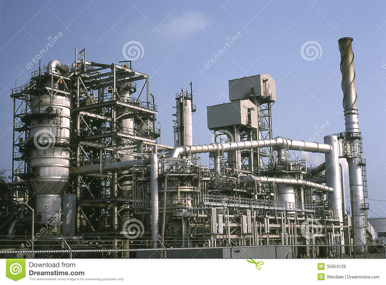 Oil Refinery Royalty Free Stock Photos Image 35954128