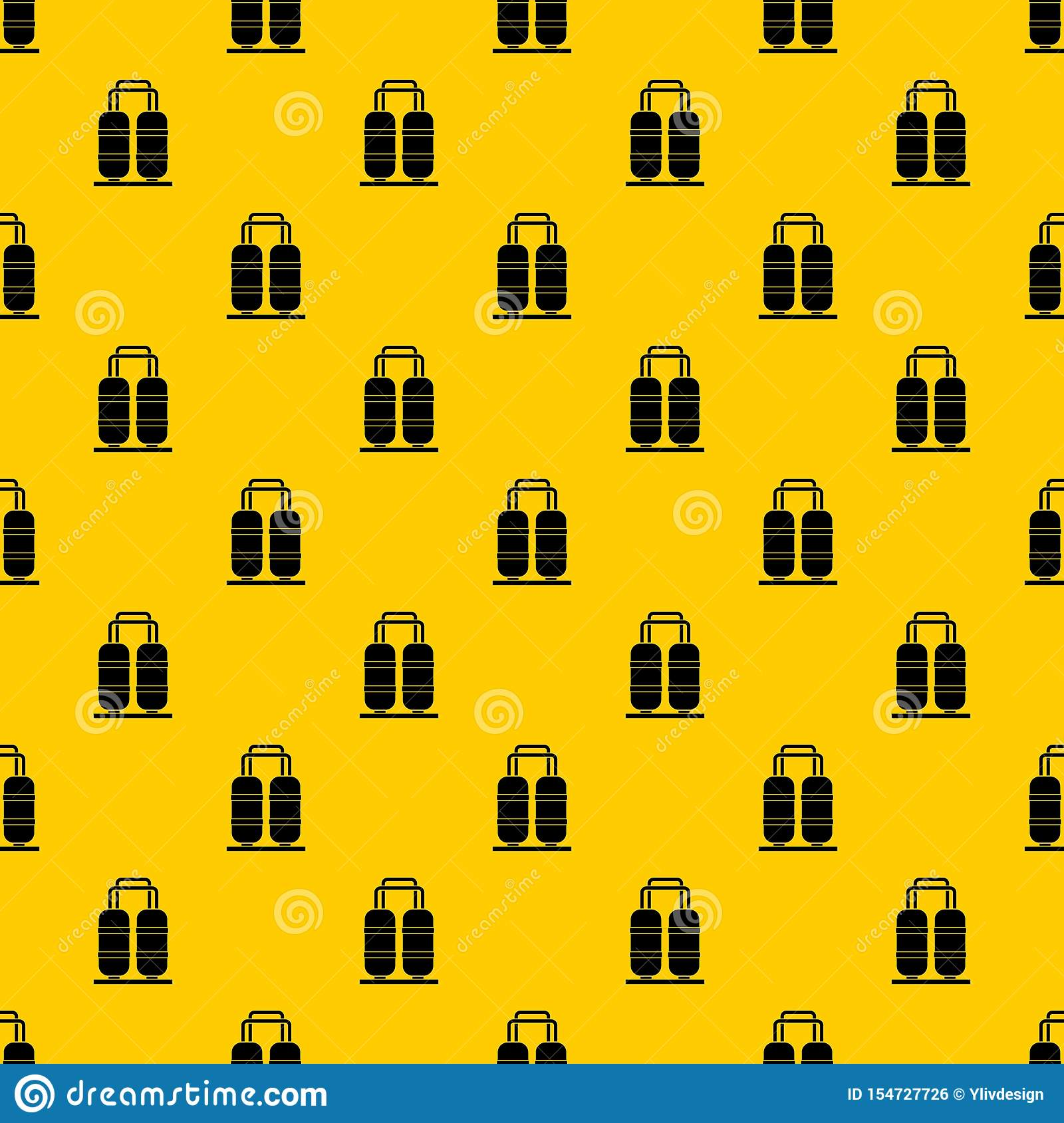 Oil Refinery Plant Pattern Vector Stock Vector
