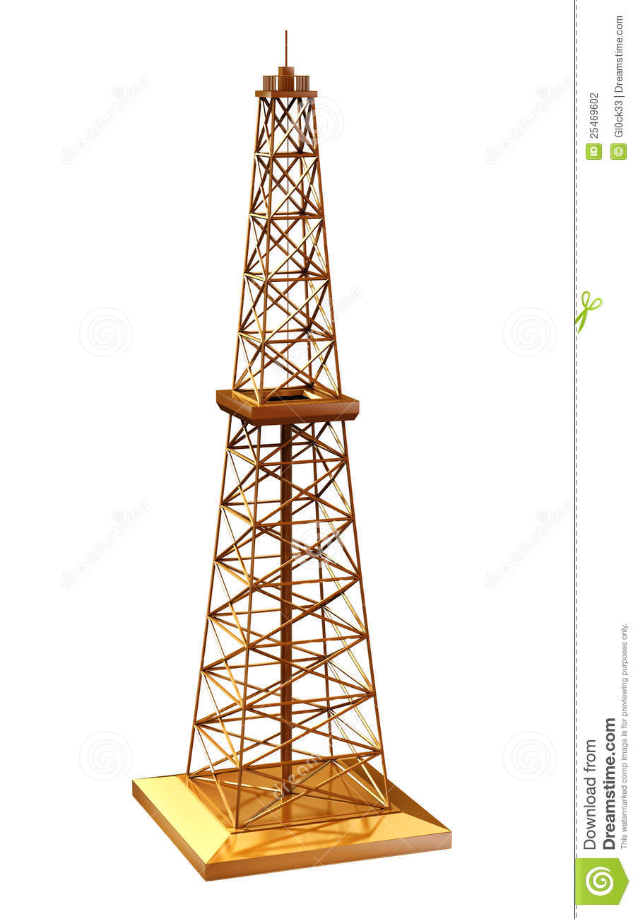 Oil Rig Model Stock Photography - Image: 25469602