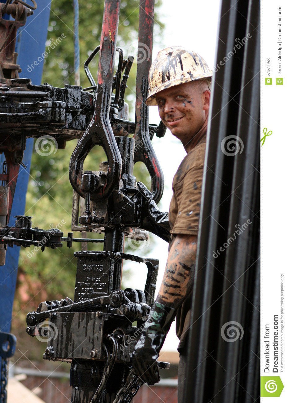 Oil Rig Worker Stock Photo  Image Of Face  Aldridge