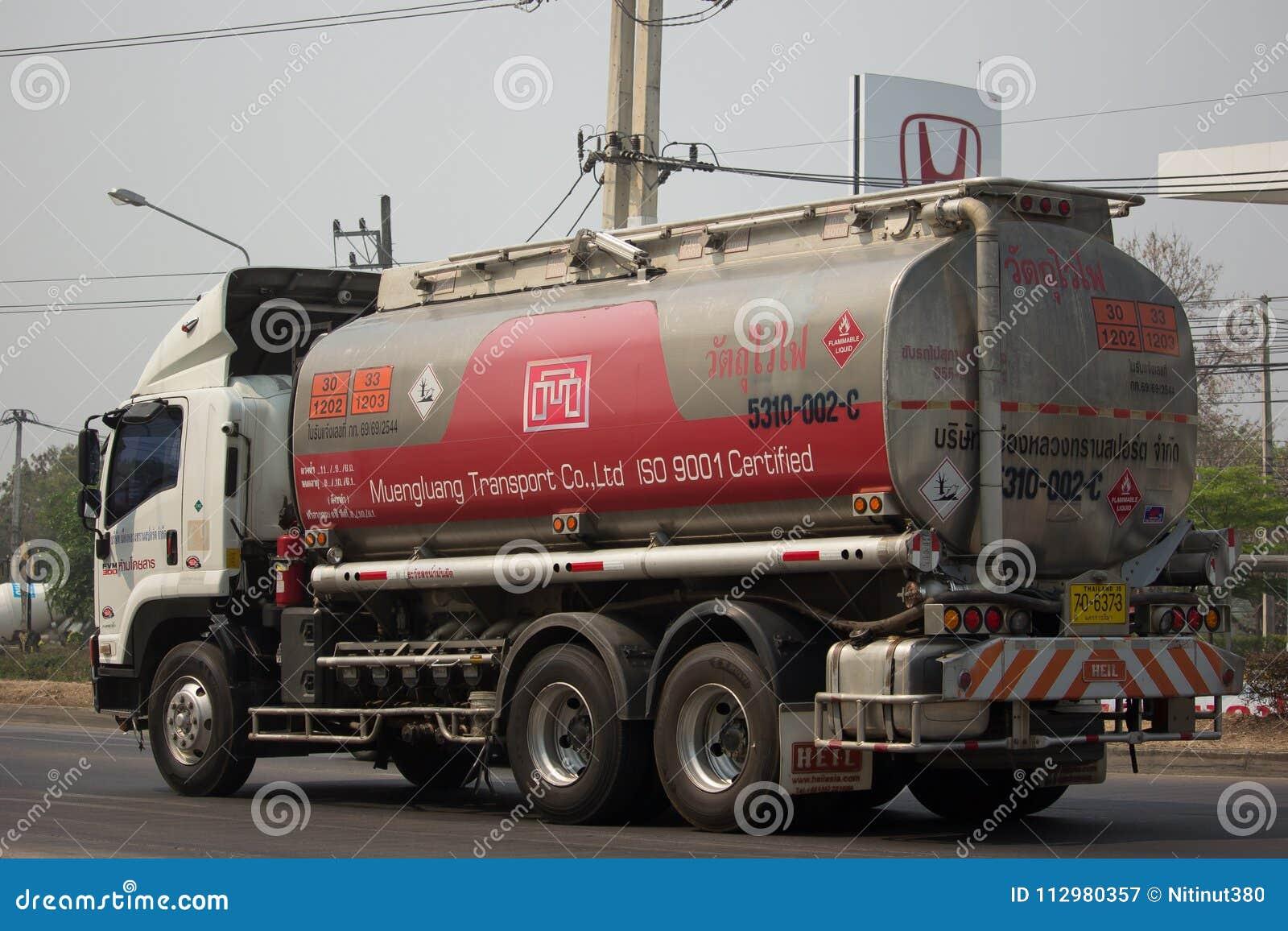 Oil Truck of MeungLuang Oil transport Company.