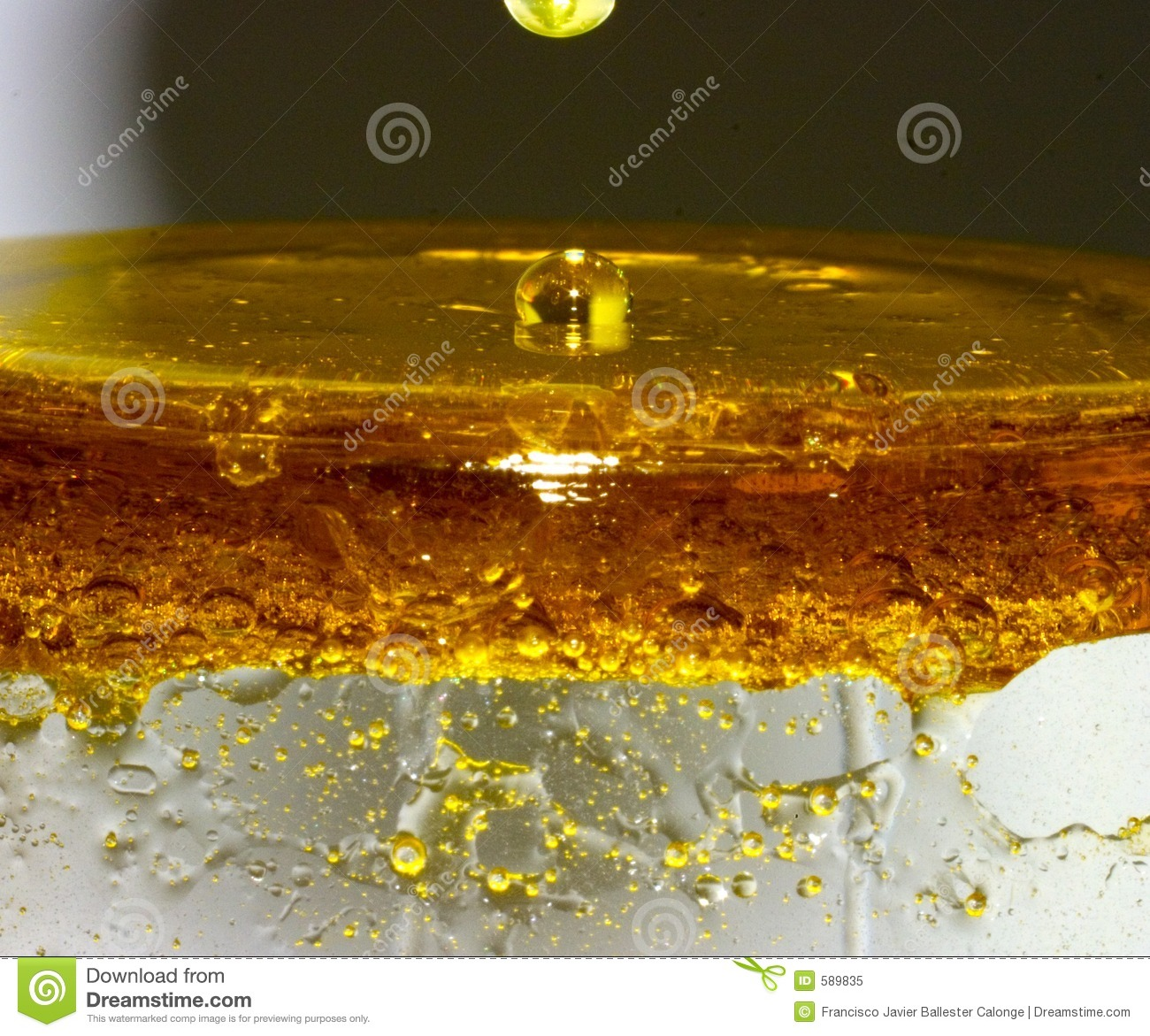 Oil Water Mix stock image. Image of splash, dirty, water ...