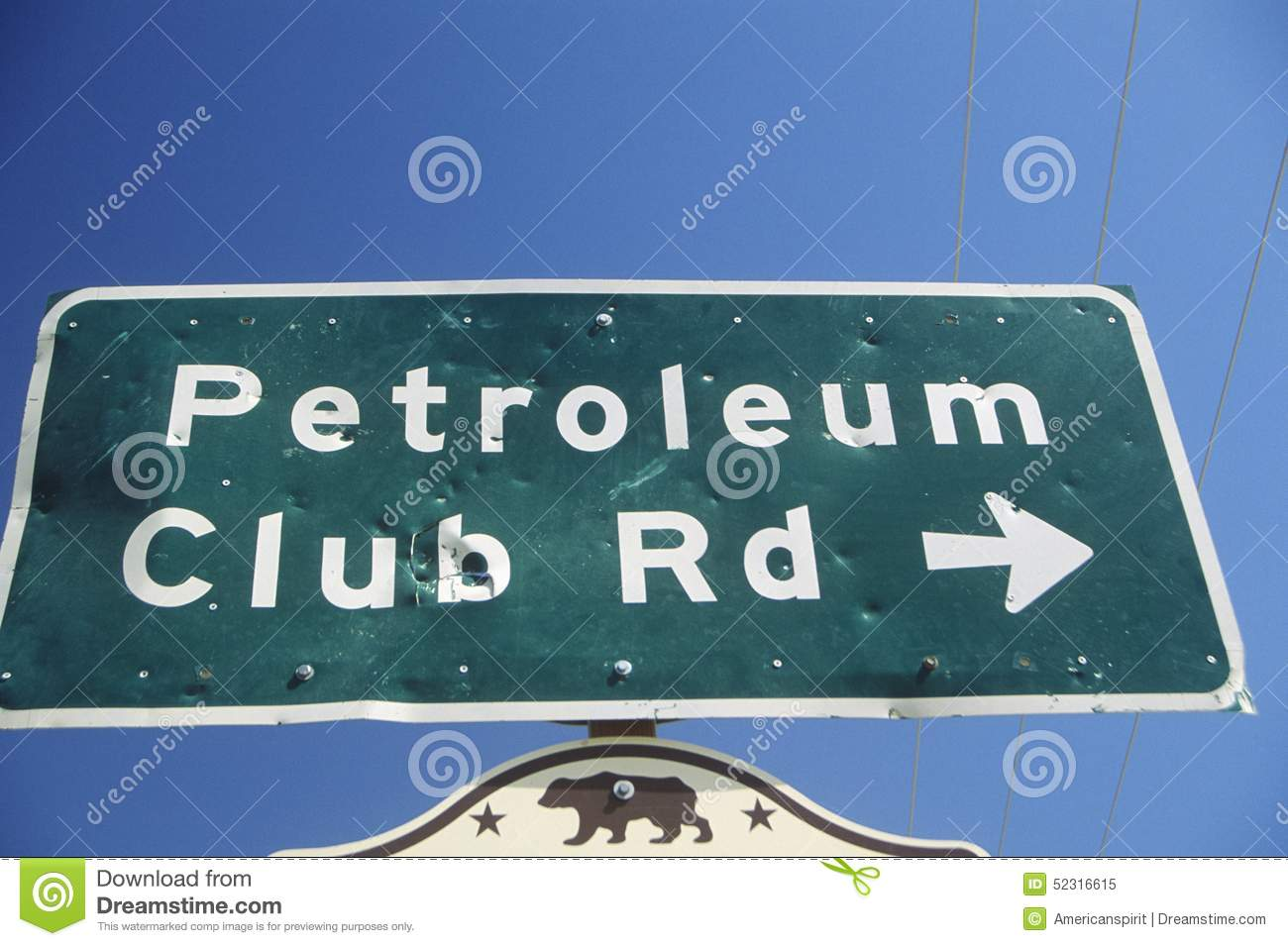 oil well sign at taft in the central valley ca stock image image