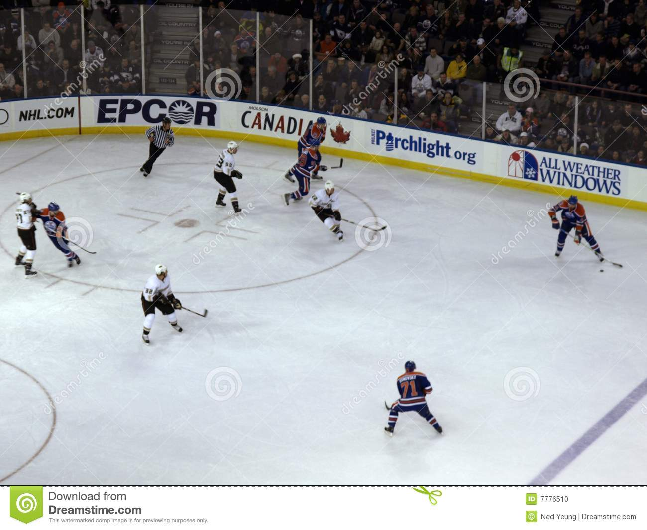 Oilers vs. Mighty Ducks 2