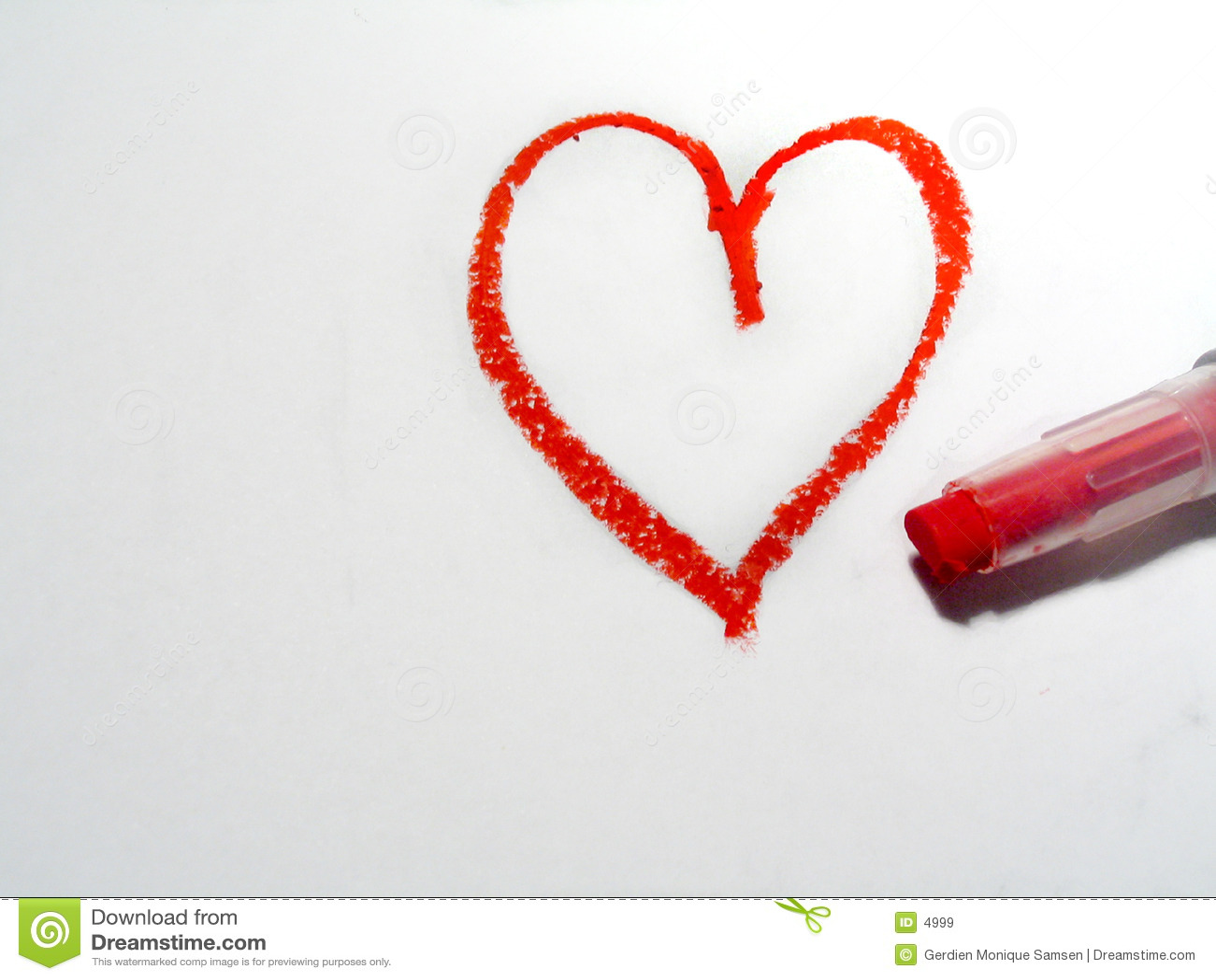 Oilpastel Heart