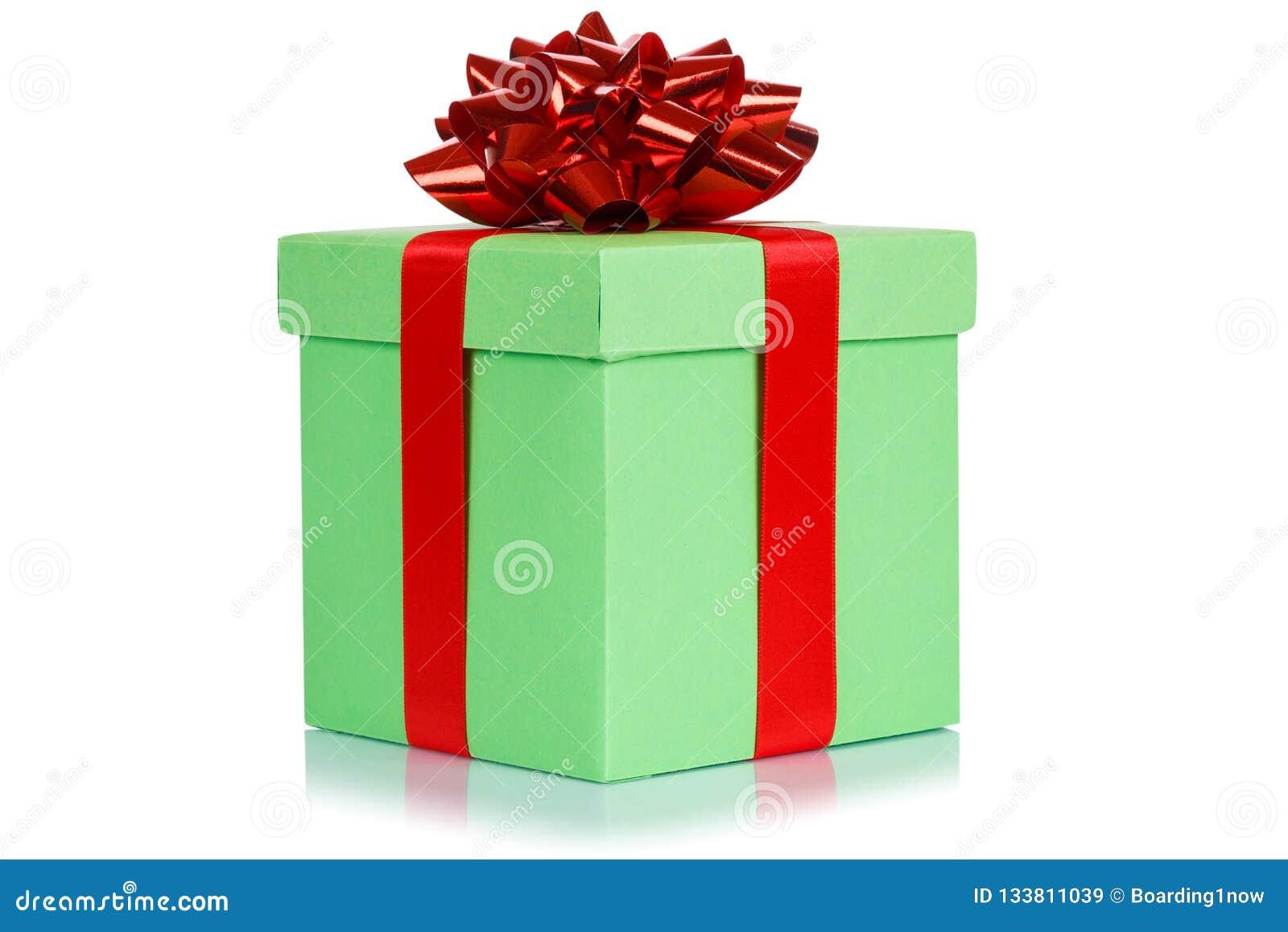 Oin Vert Clair De Boite De Noel De Cadeau D Anniversaire De