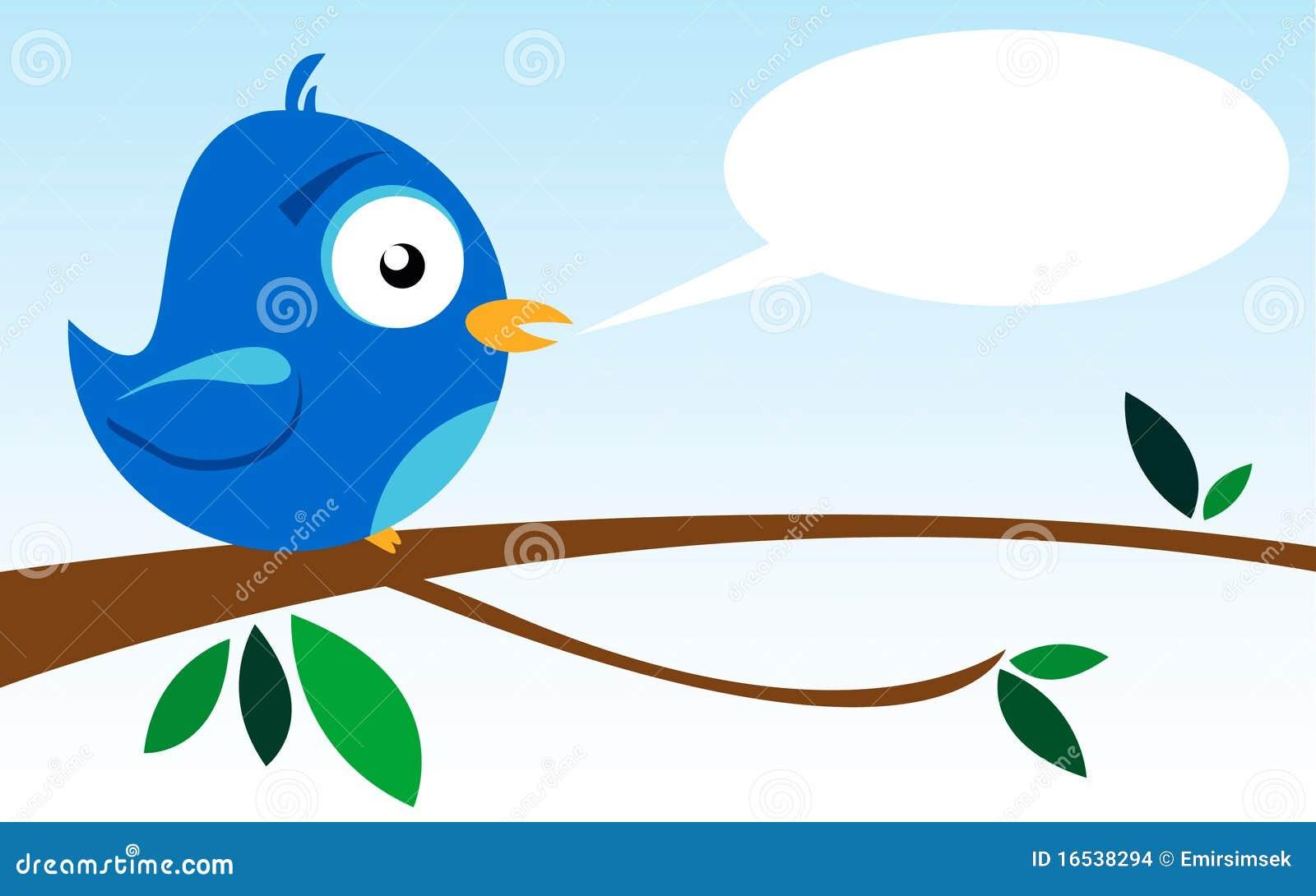 Oiseau sur un branchement
