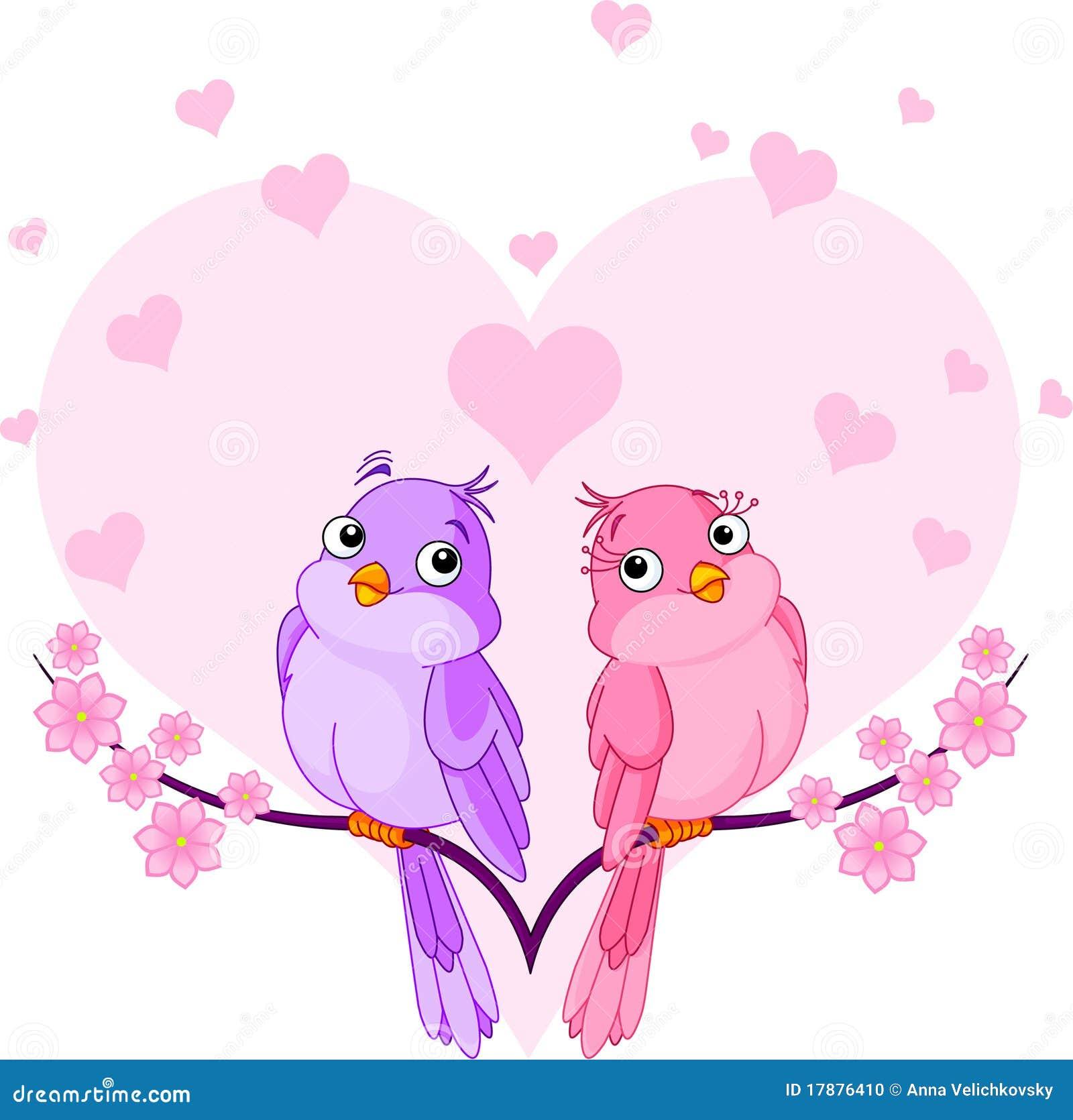 Oiseaux dans l amour