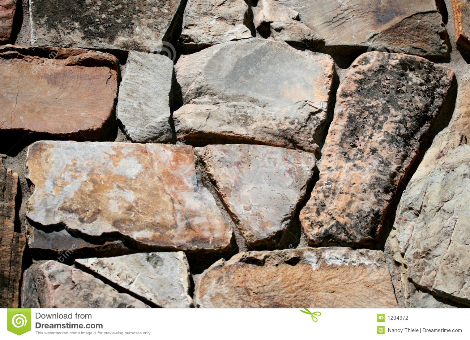 Ojämn stonework