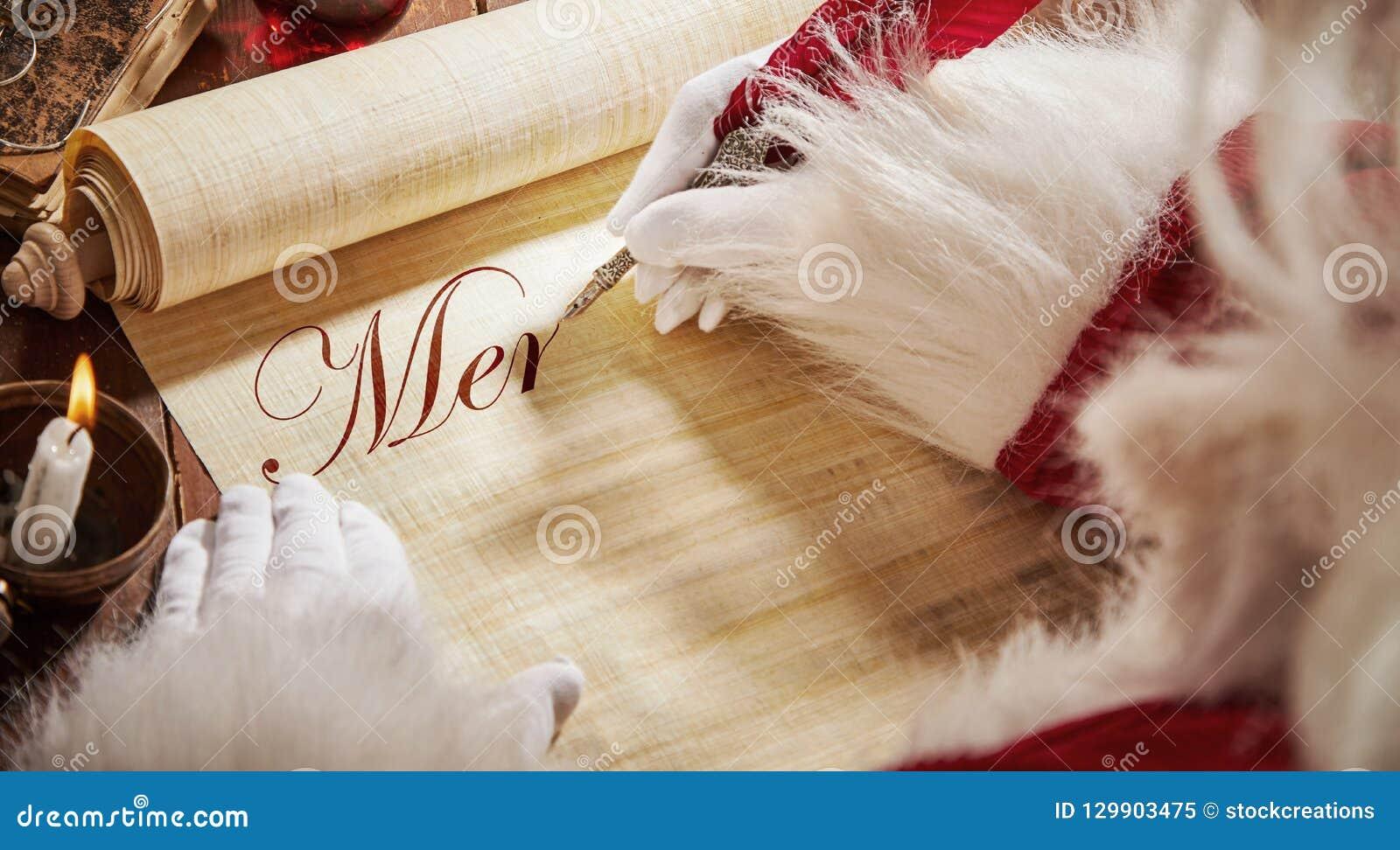 Ojca Bożenarodzeniowy pisać na rocznik ślimacznicie