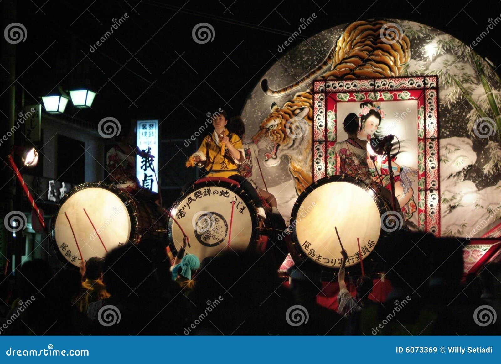 Ojima nebuta matsuri φεστιβάλ