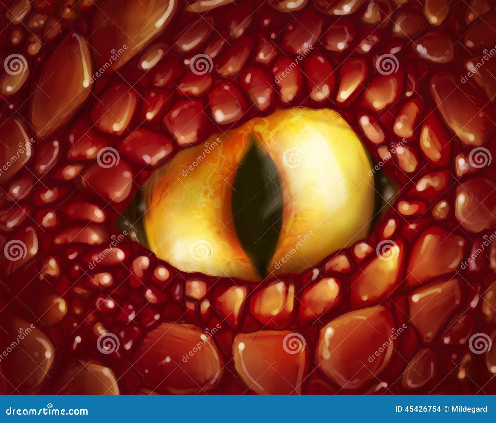 Ojo amarillo del dragón