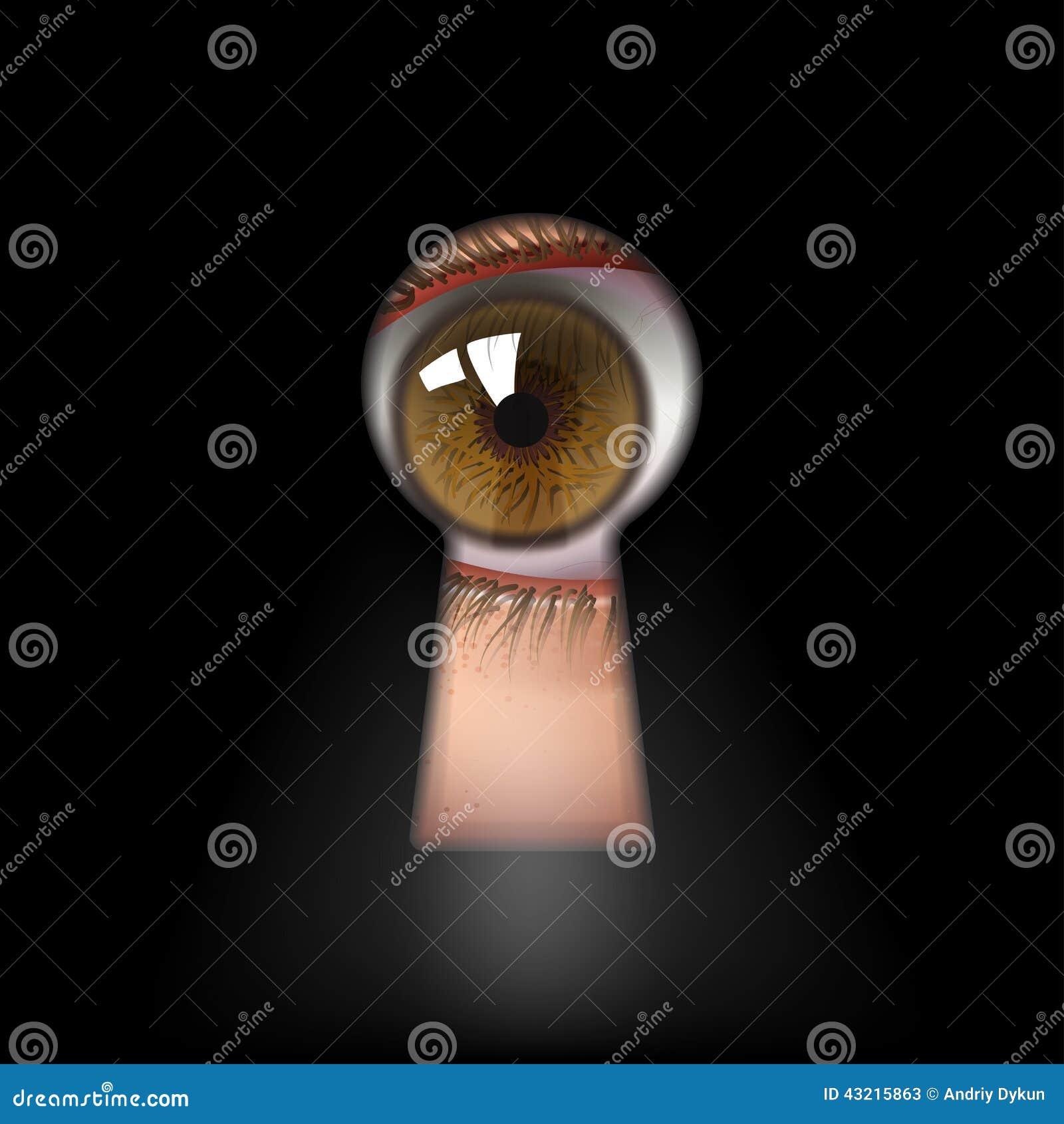 Ojo de la cerradura