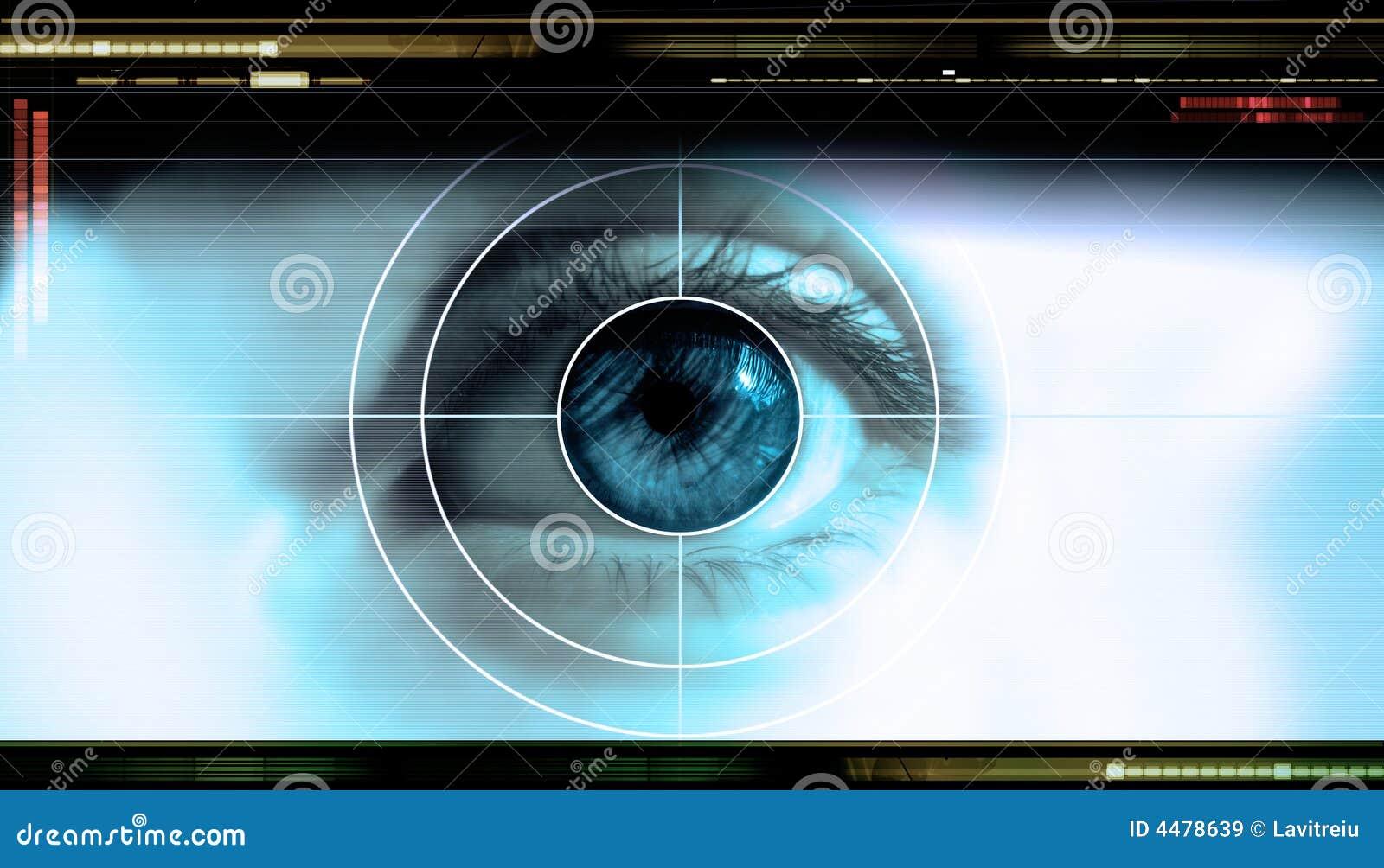 Ojo de la tecnología